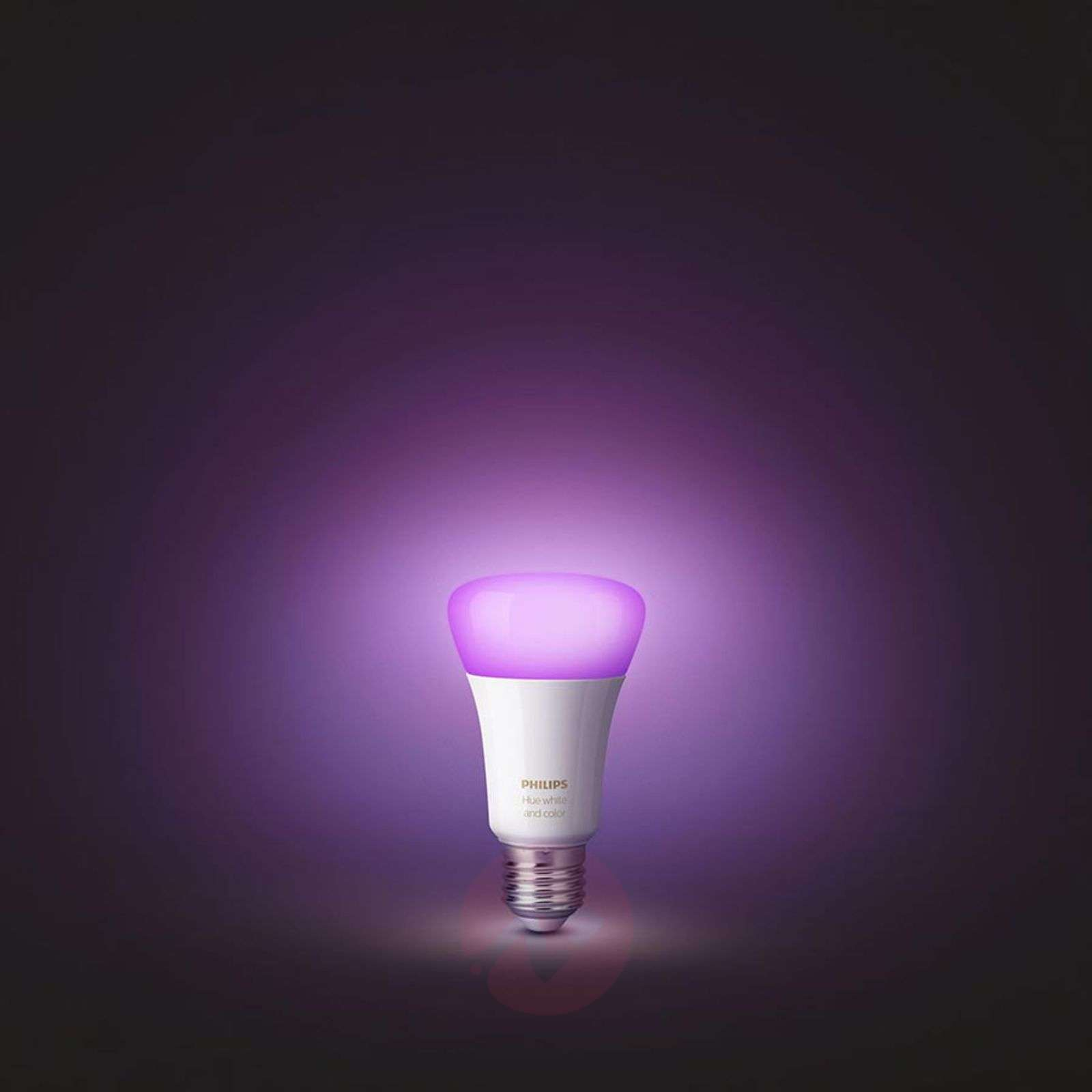 2 ampoules Philips Hue E27 White+Color Ambiance-7532035-01