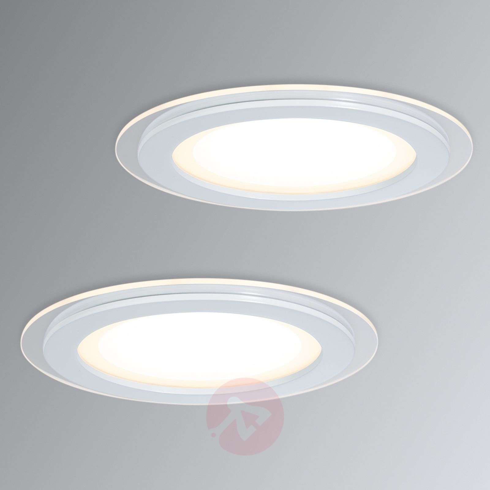 2 spots LED encastrables Premium Line DecoDot-7600696-01