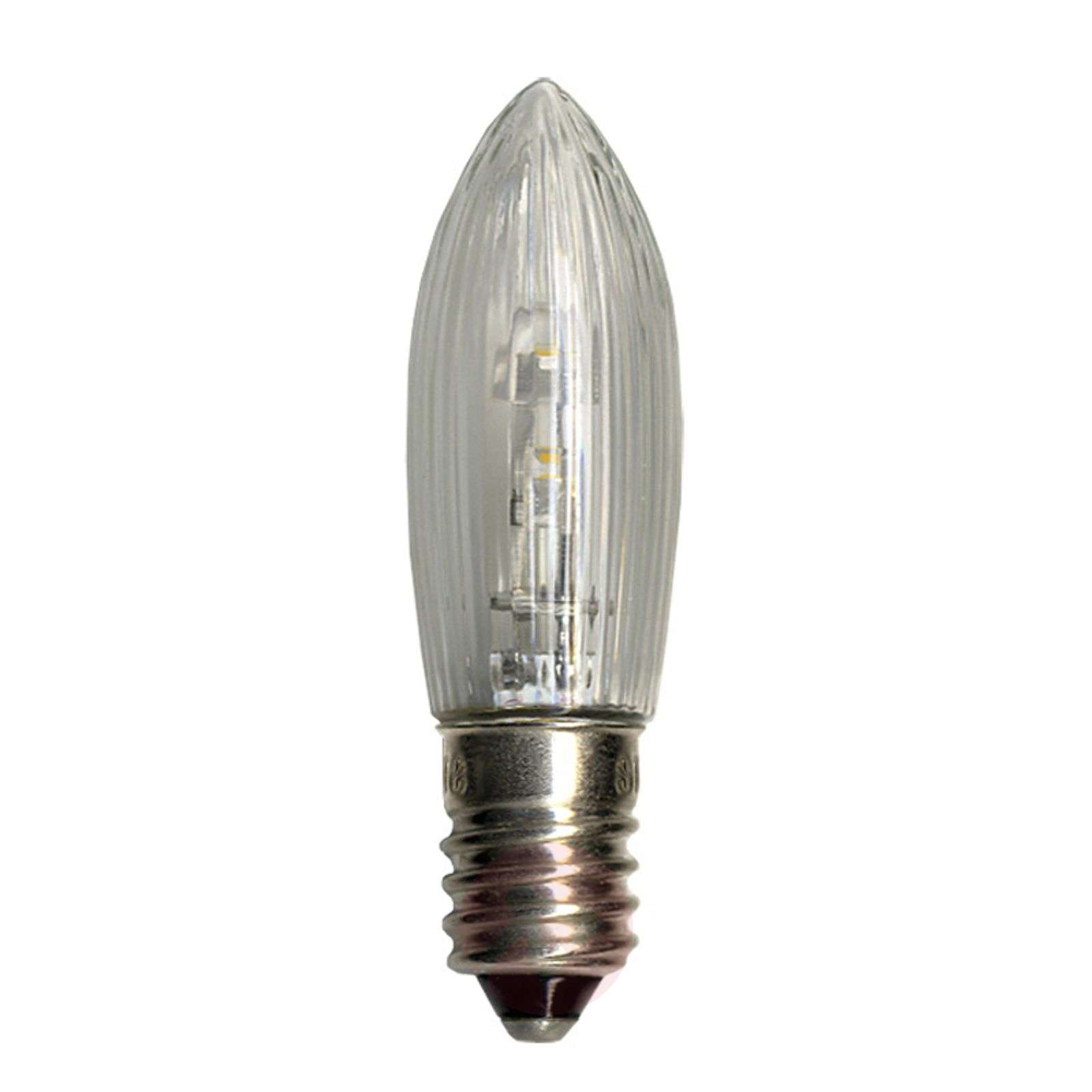 3 LED E10 de rechange bougie 0,2W 10-55V-1522312-01