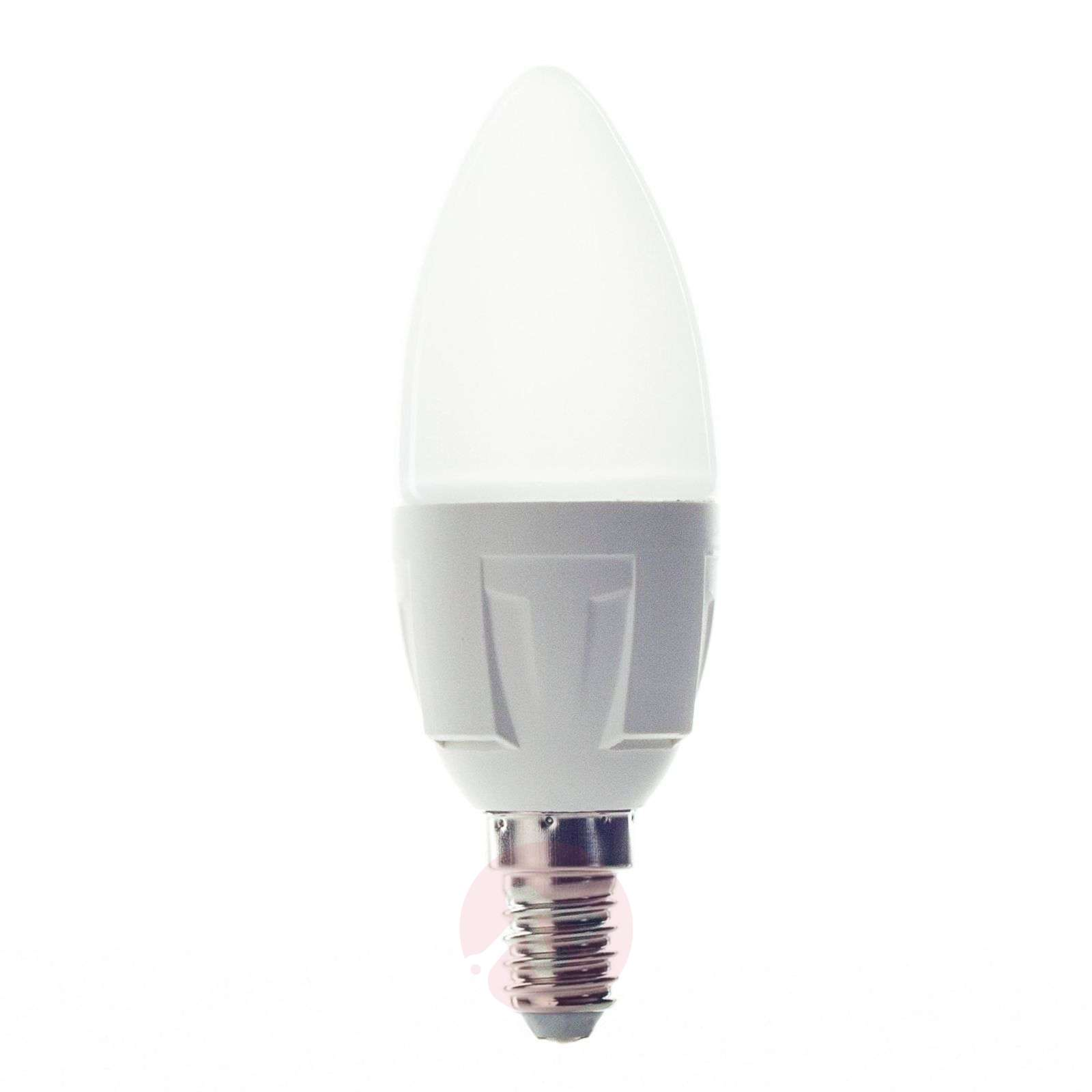 Ampoule bougie LED E14 6W 830 blanc chaud-9993004-02
