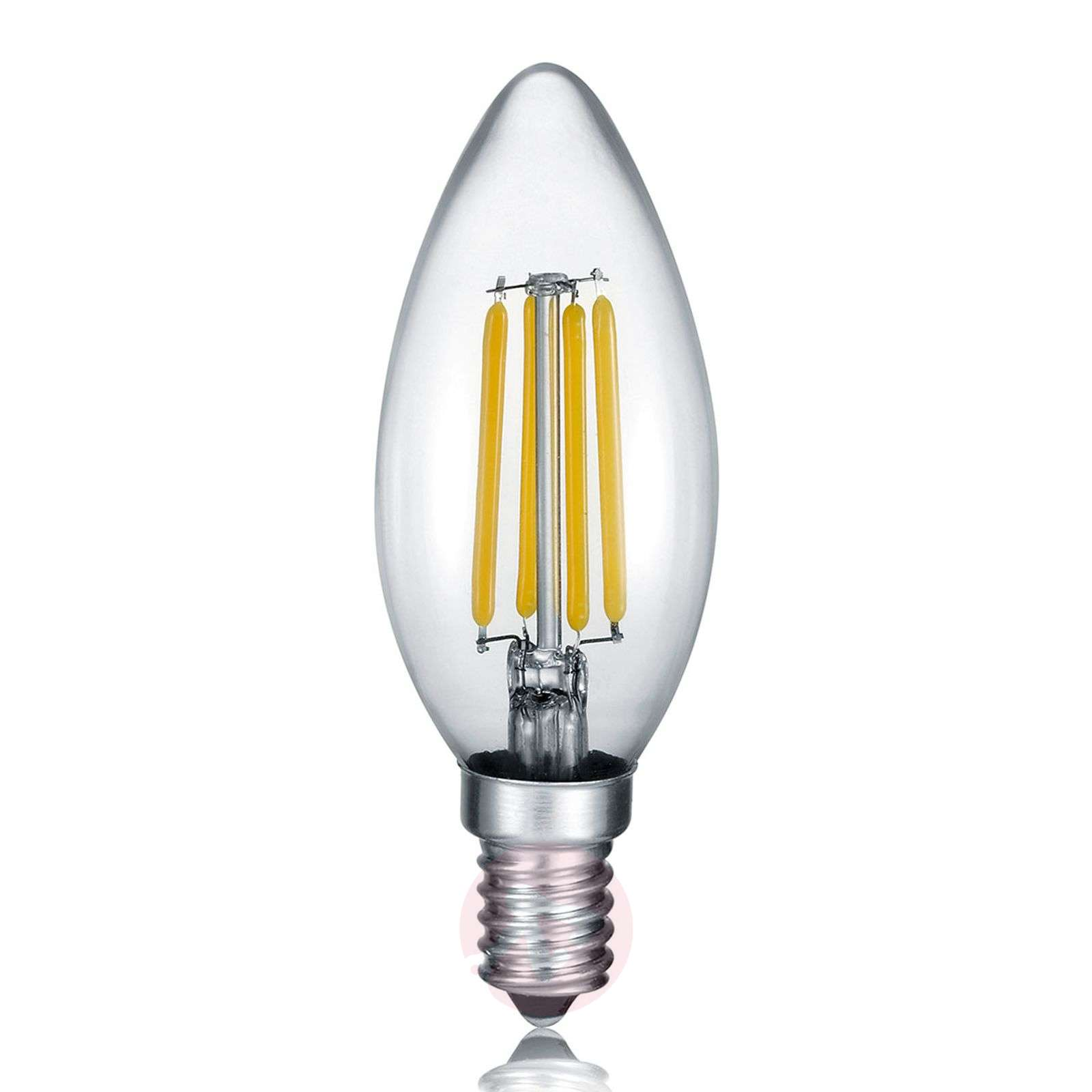 Ampoule flamme LED E14 4W, 2700K Switch Dimmer-9004819-01