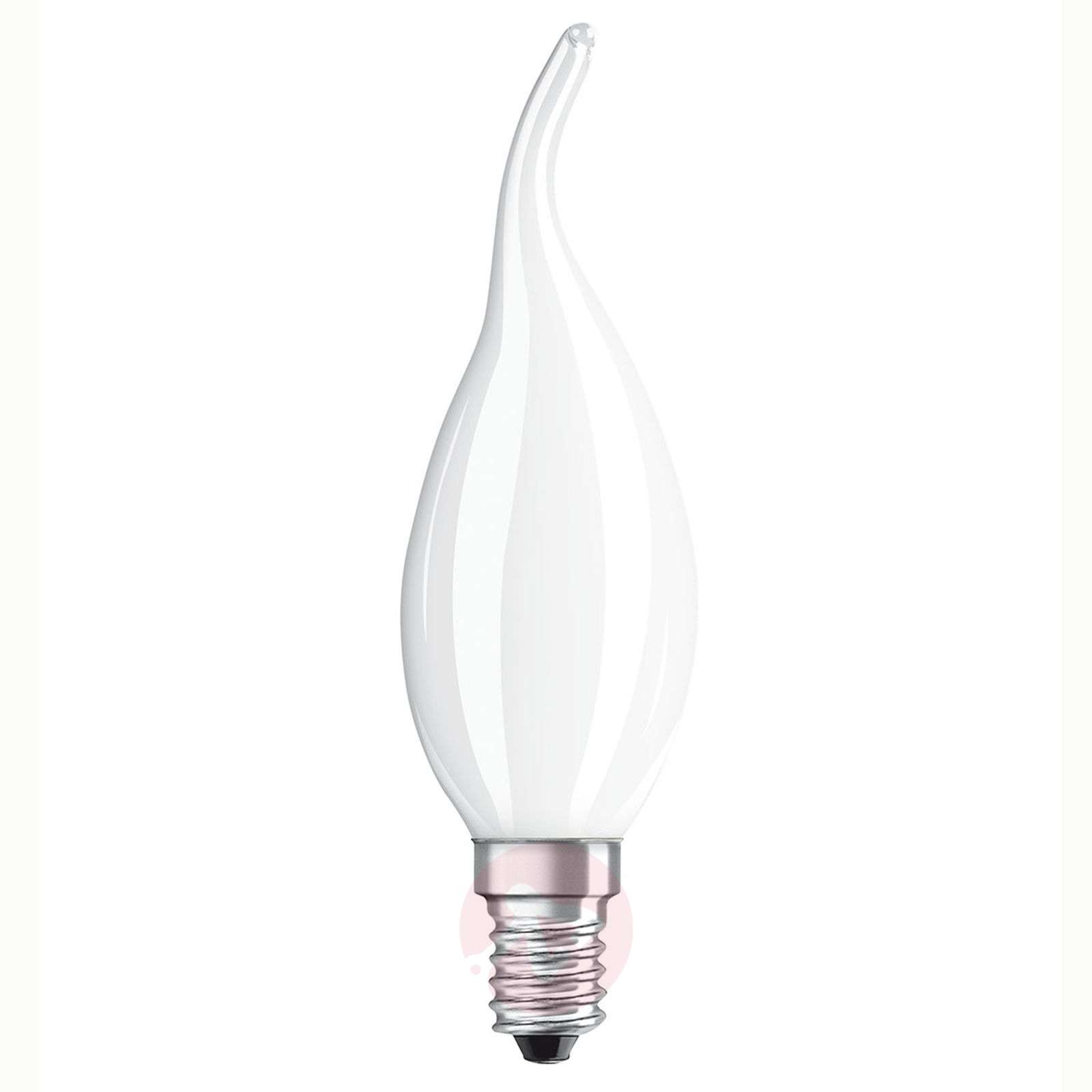 Ampoule flamme LED E14 5W, blanc chaud, dimmable-7262018-04