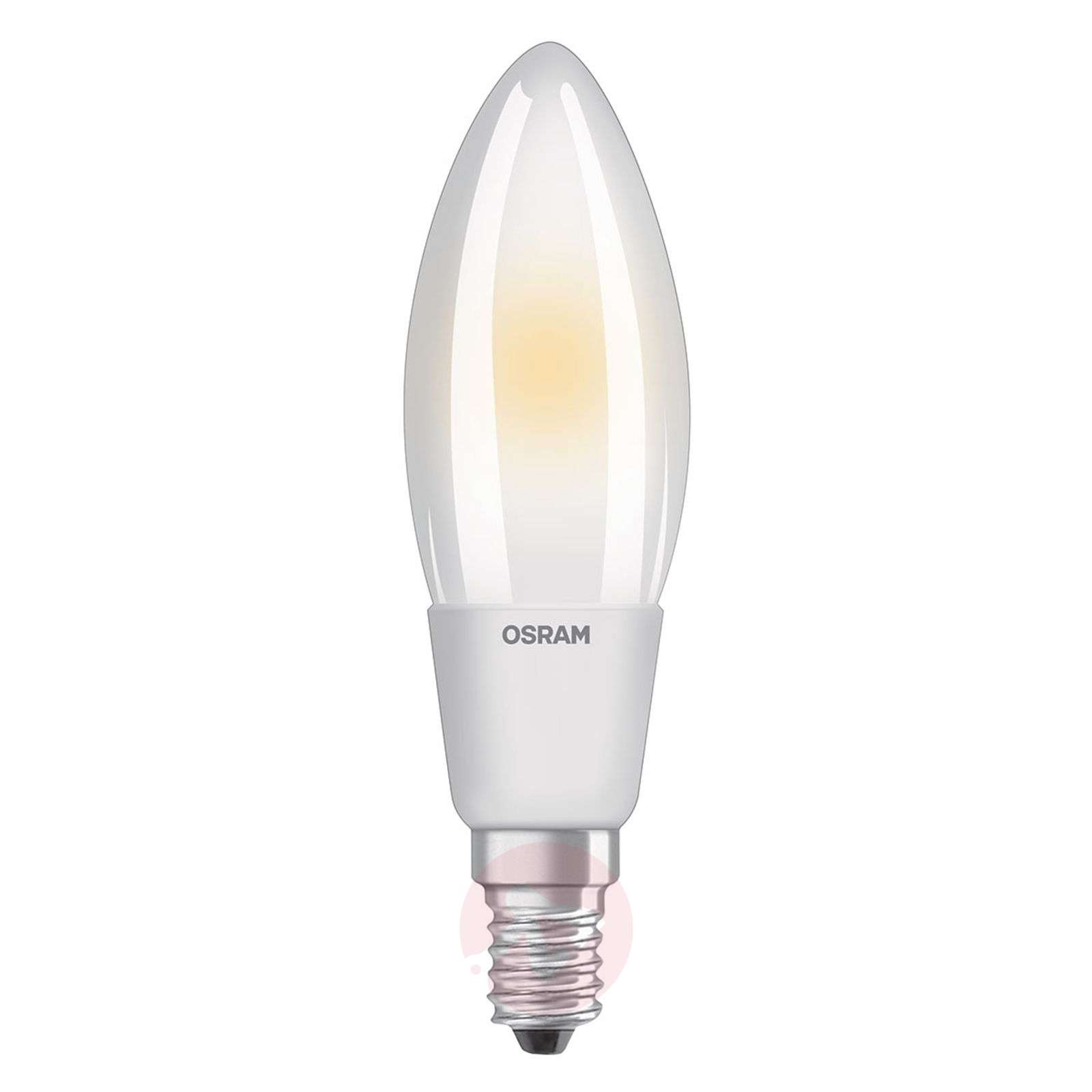 Ampoule flamme LED E14 6 W, blanc chaud, dimmable-7262021-04