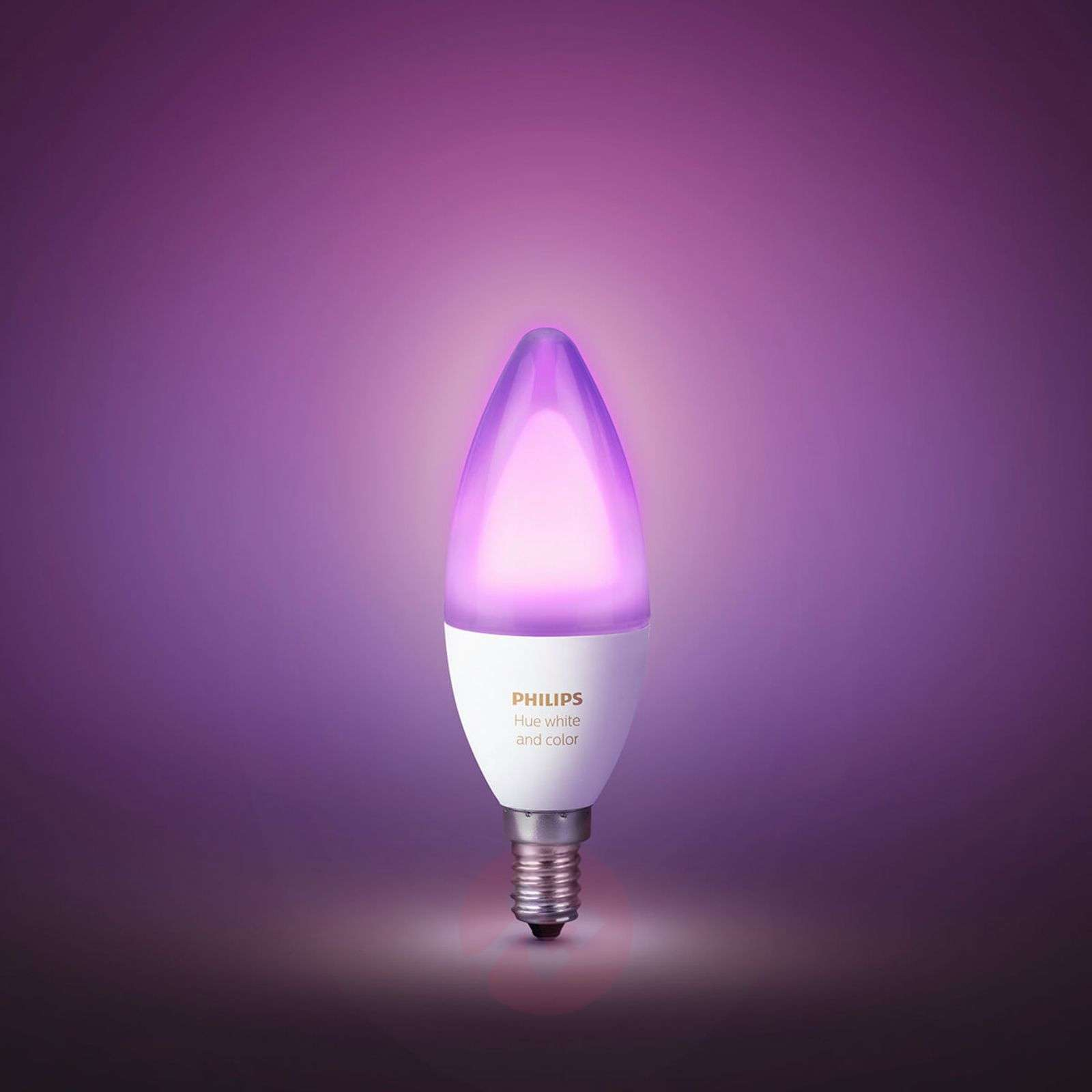 Ampoule flamme Philips HUE White Ambiance E14 6 W-7531919-01