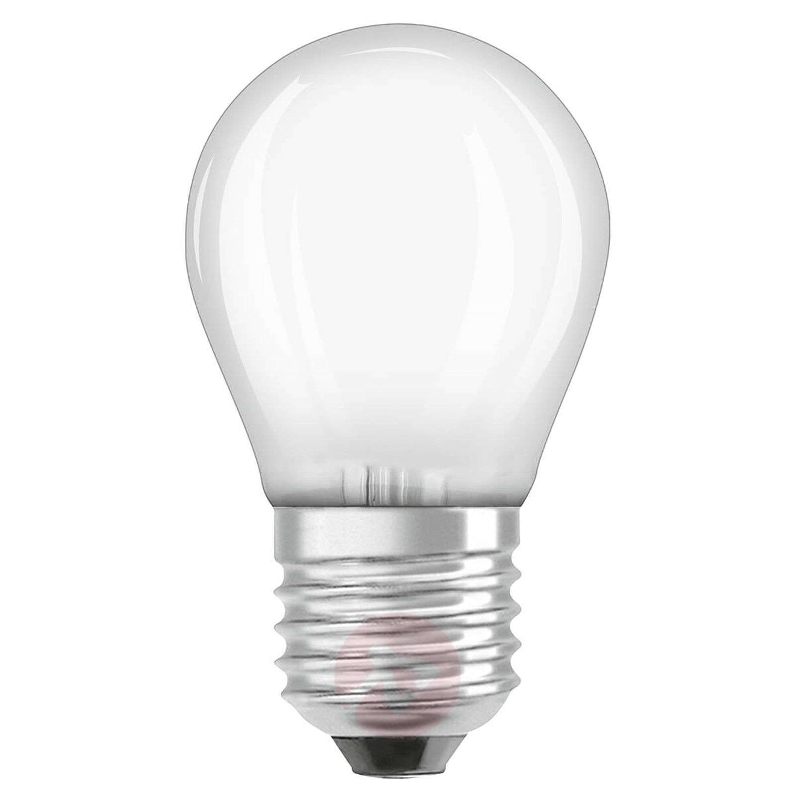 Ampoule goutte LED E27 3,2W, blanc chaud, dimmable-7262028-01