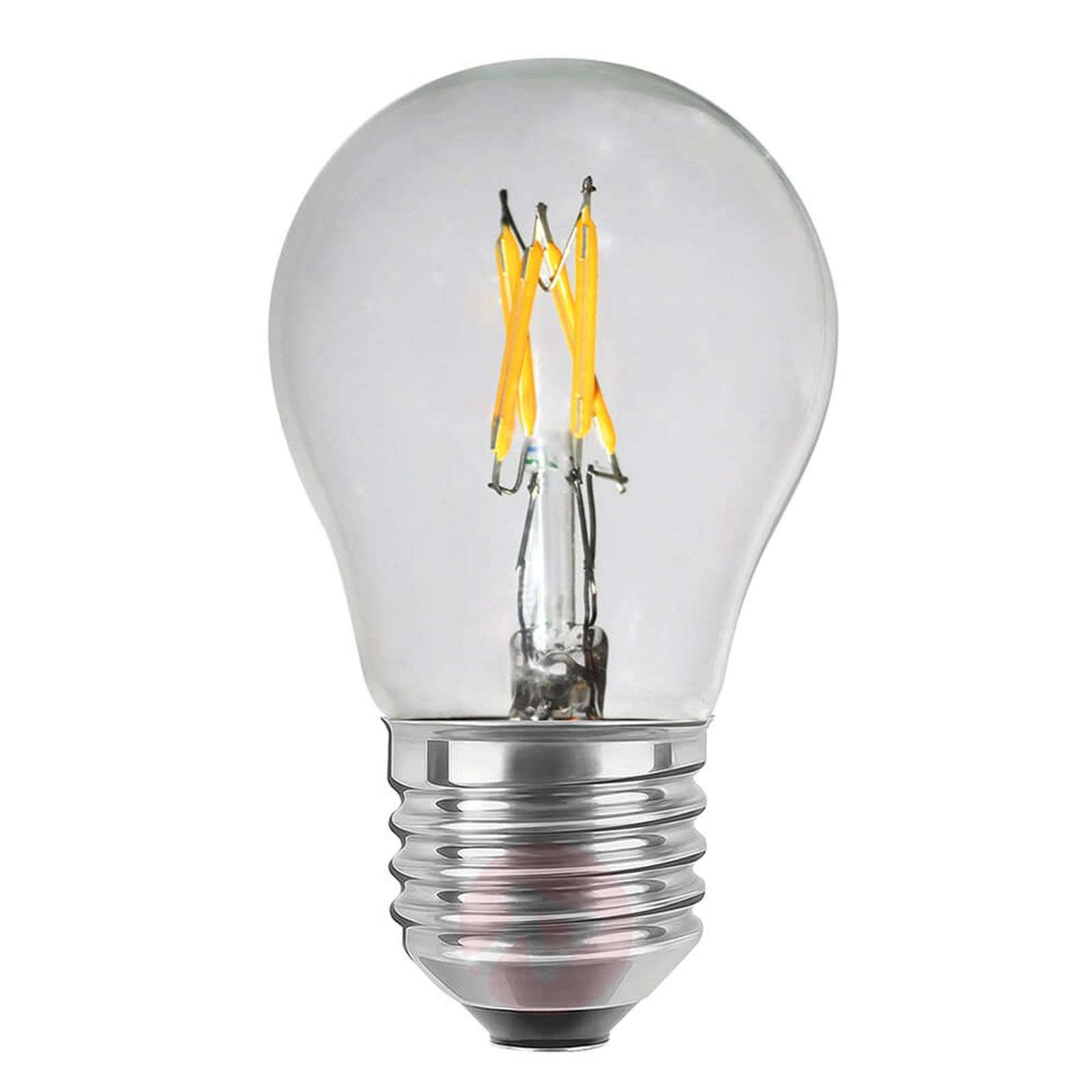 Ampoule LED E27 2,7W transparente, variable-8536099-02