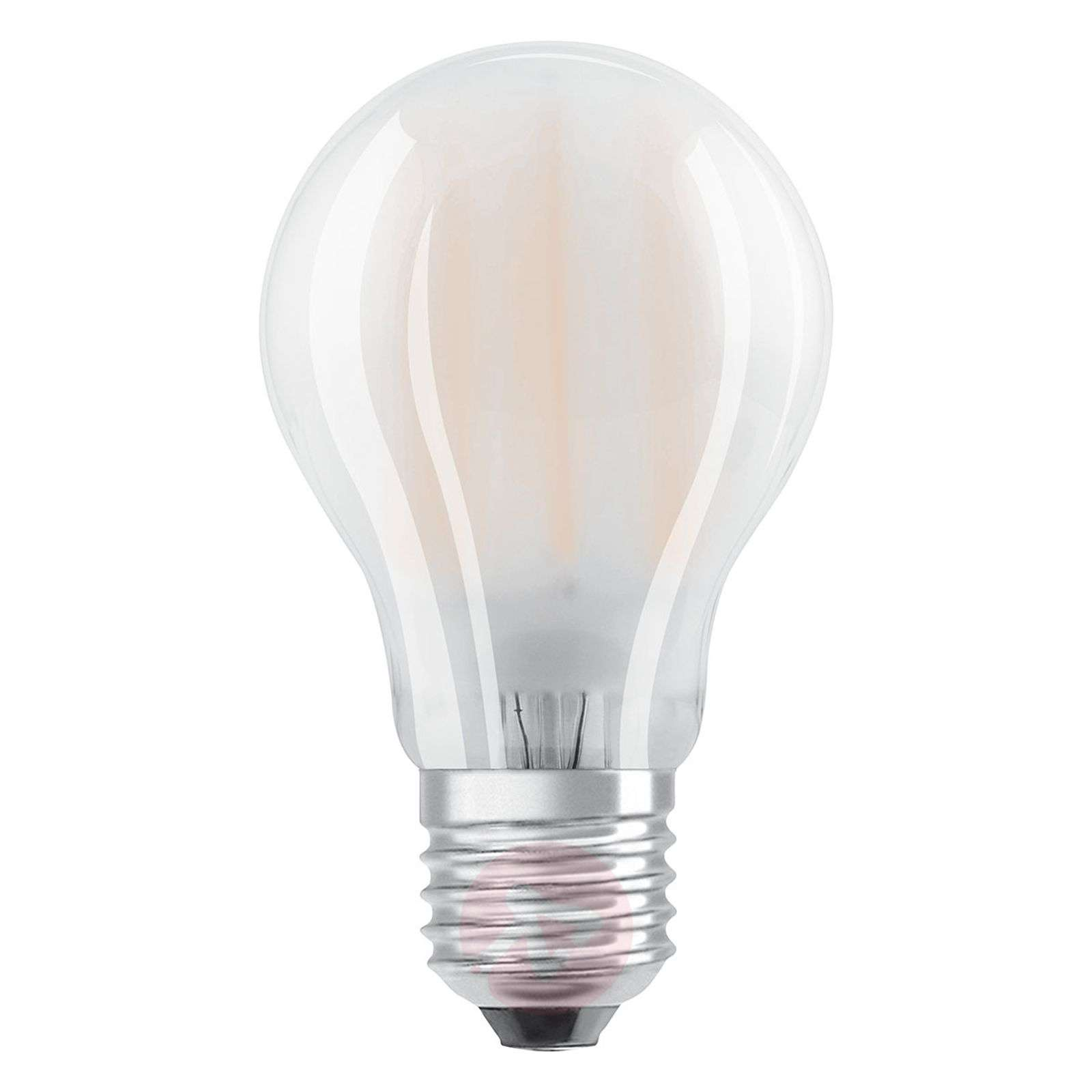 Ampoule LED E27 7W 827, kit de 2, mat-7260969-01