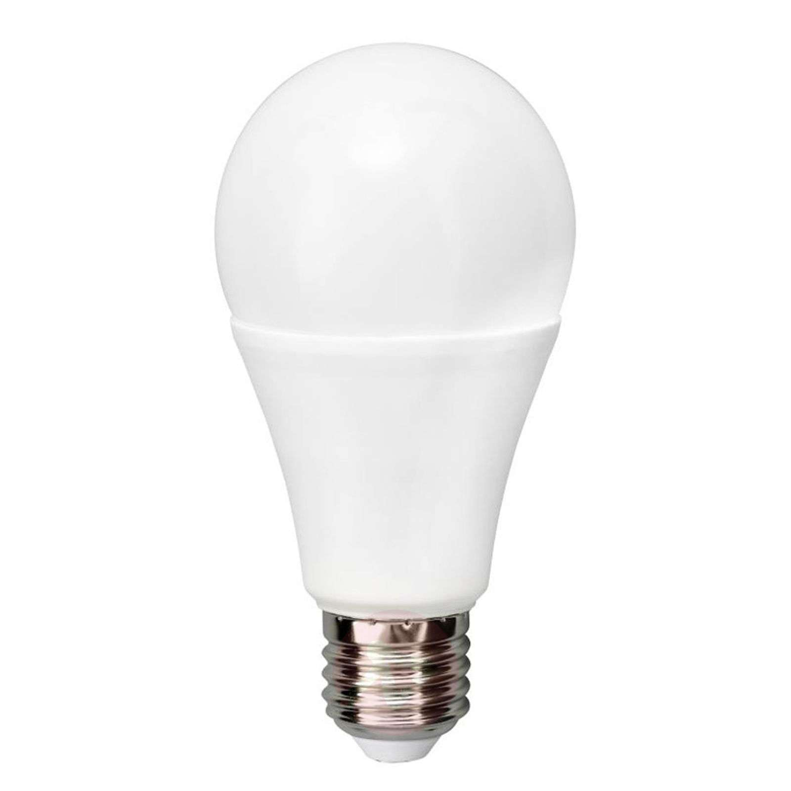 Ampoule LED E27 A65 12 W 2 700 K mate