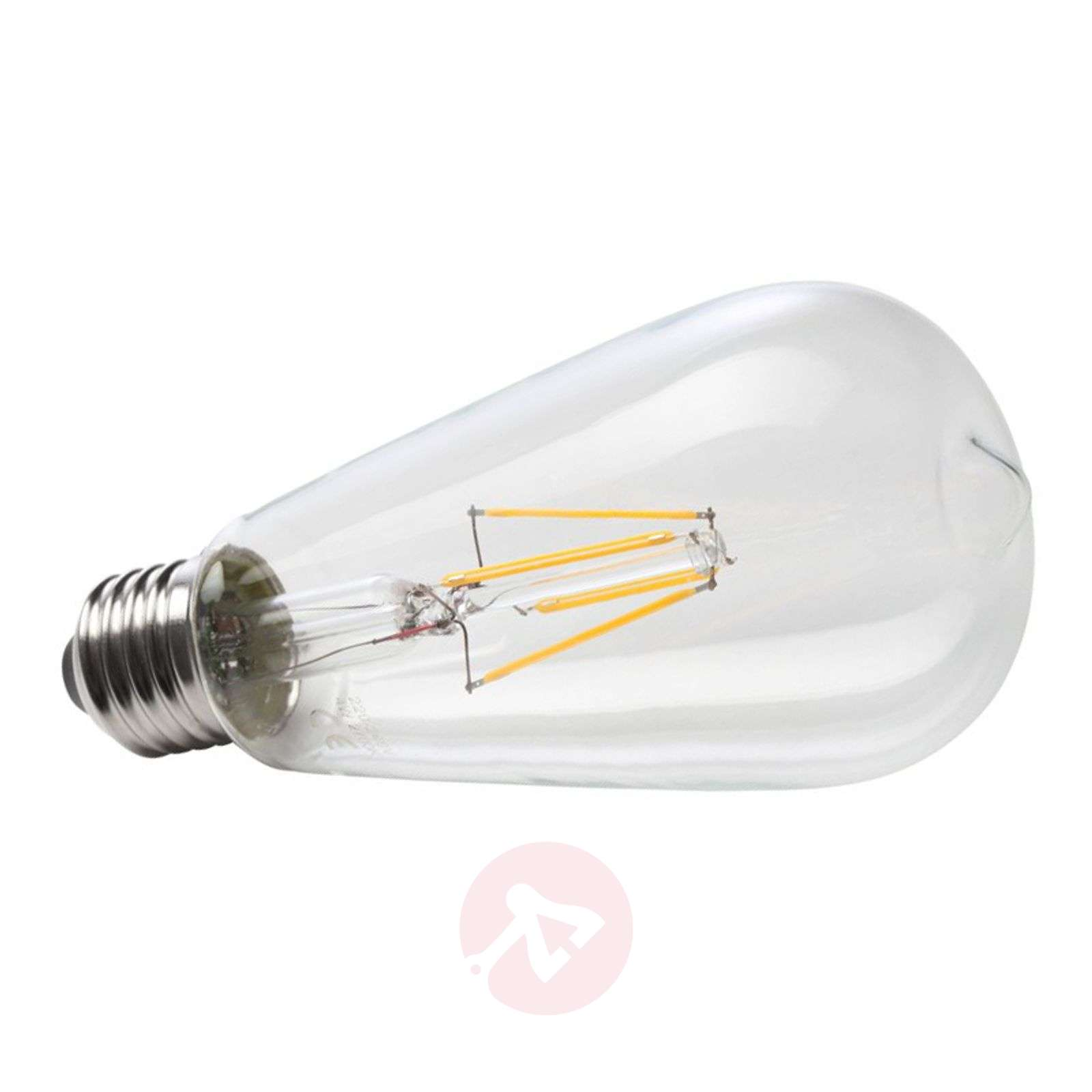 Ampoule rustique LED à filament E27 6W 827-6520240-01