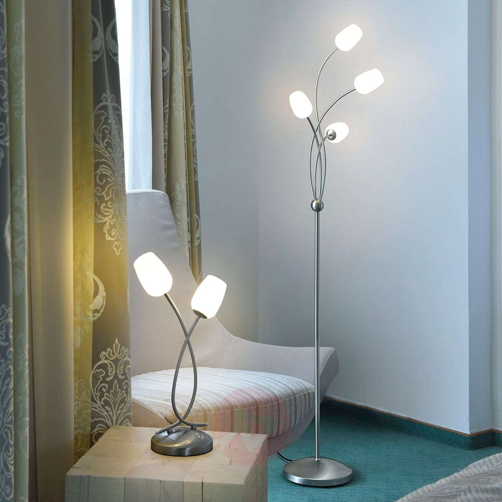 Anastasia lampe à poser LED, dimmable-7610614-01