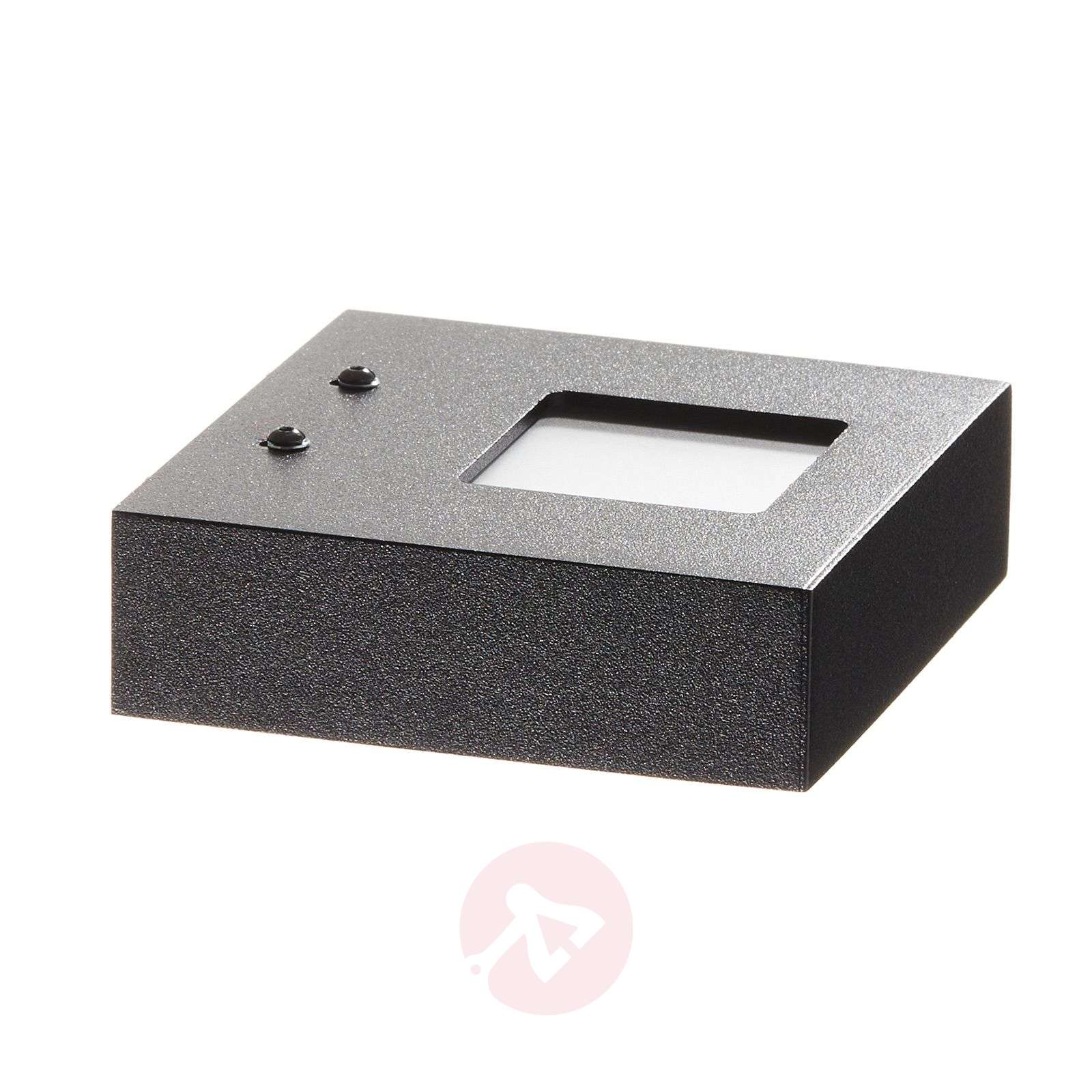 Applique à éclairage indirect LED Cubus, noir-1556079-01