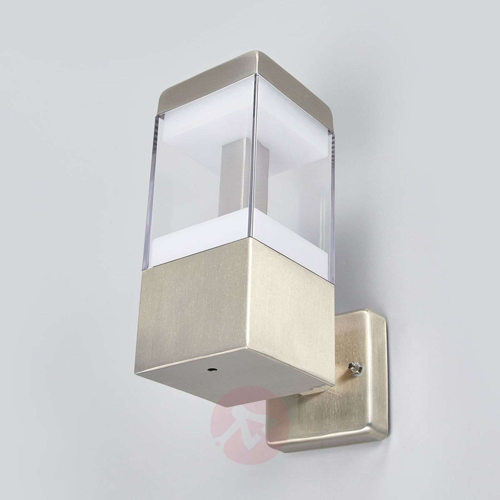 Applique d 39 ext rieur led baily en inox for Luminaire exterieur inox led