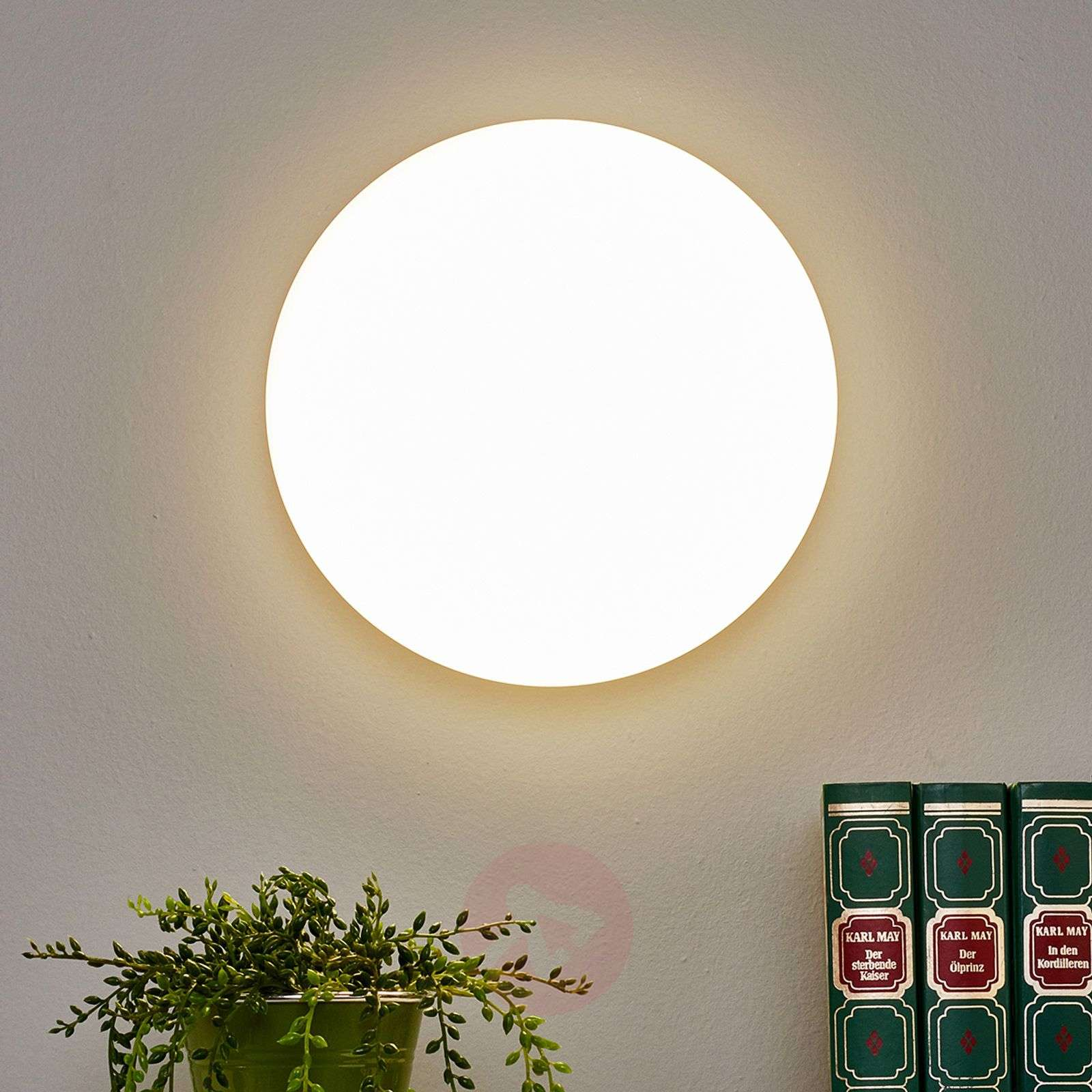 Applique LED blanc Sun 12 protection IP55-1018296X-01