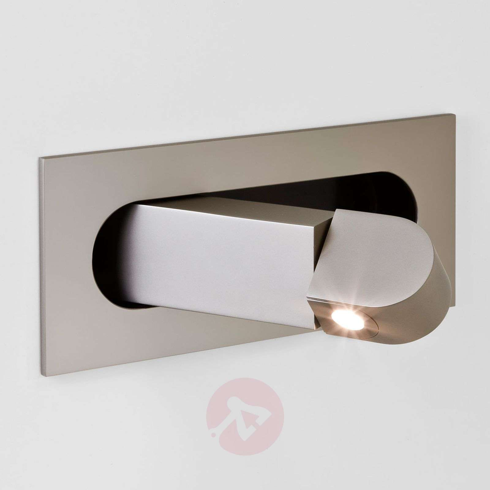 Applique LED Digit comme liseuse, nickel-1020476-04