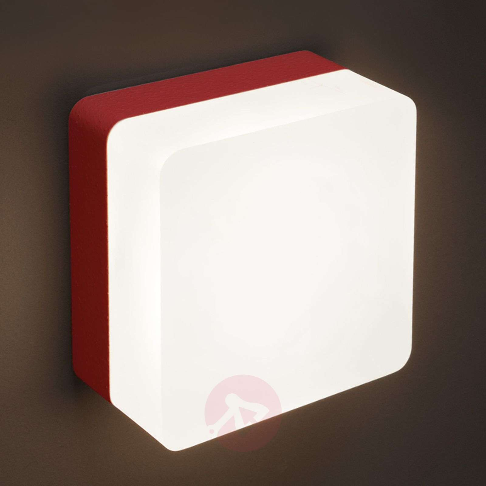 Applique LED Muffin, rouge-3039191-01