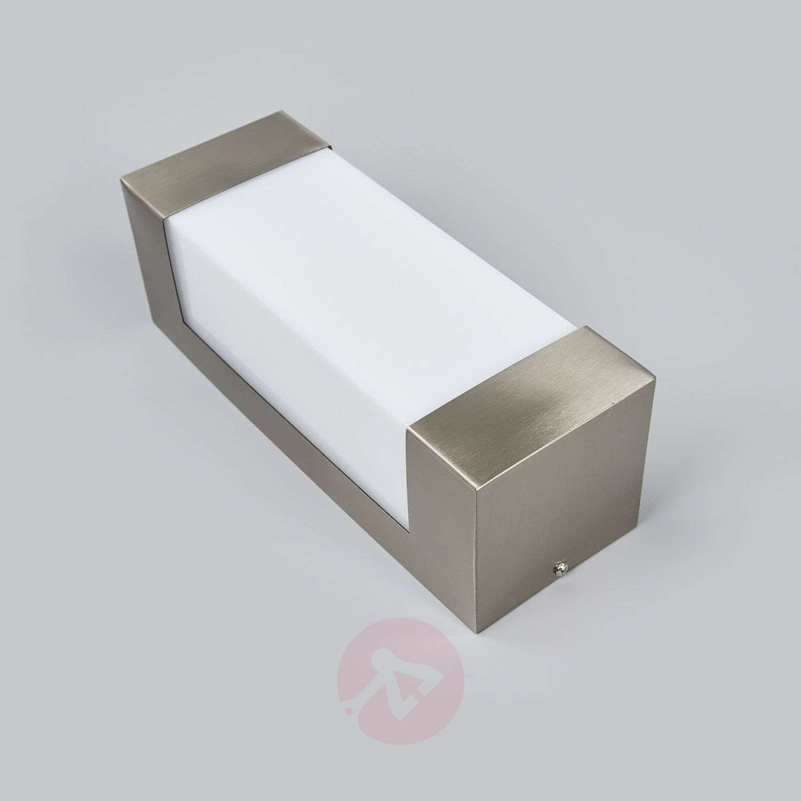 Applique murale led en inox severina for Luminaire exterieur inox led