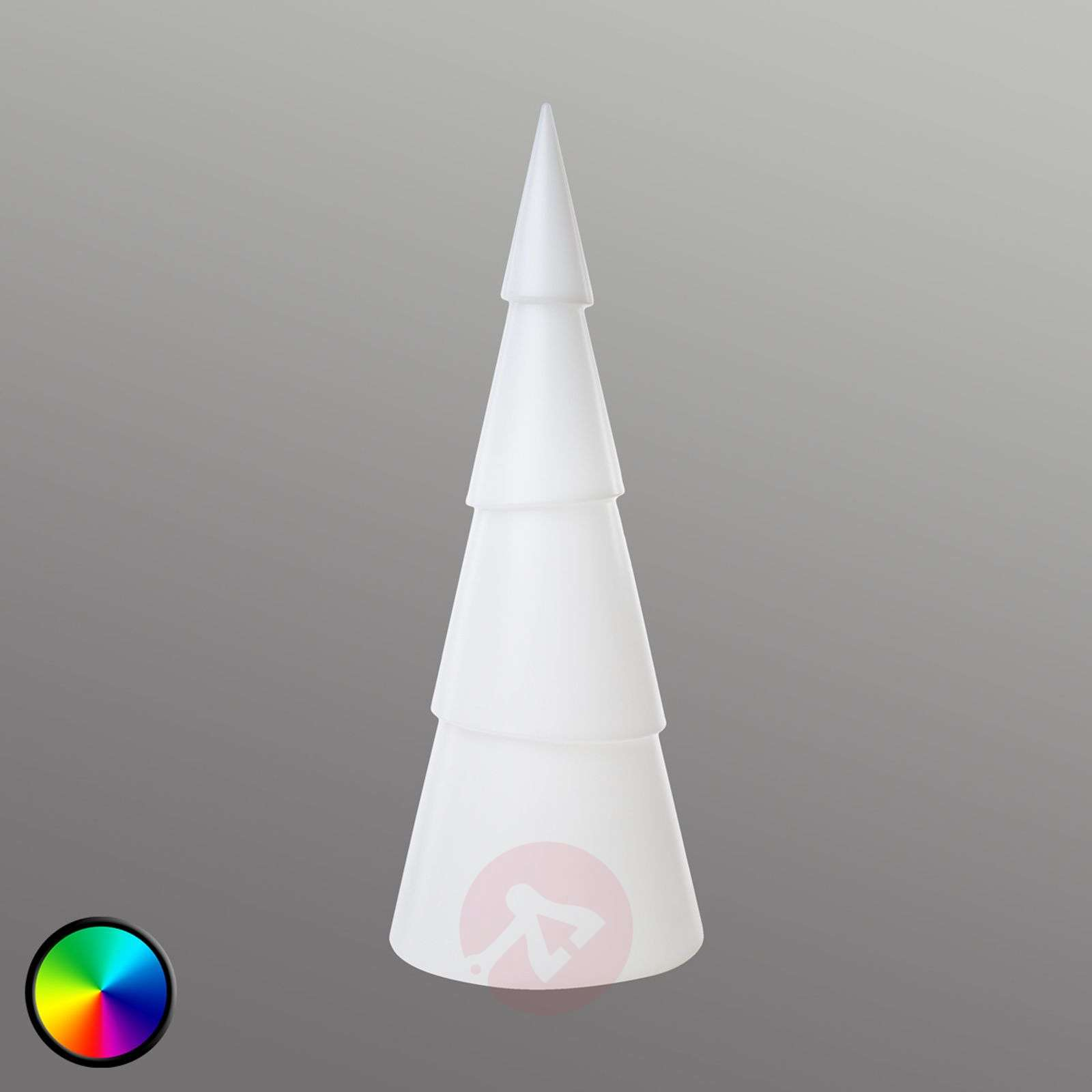 Arbre 3D Shining Tree LED RVB, 55 cm
