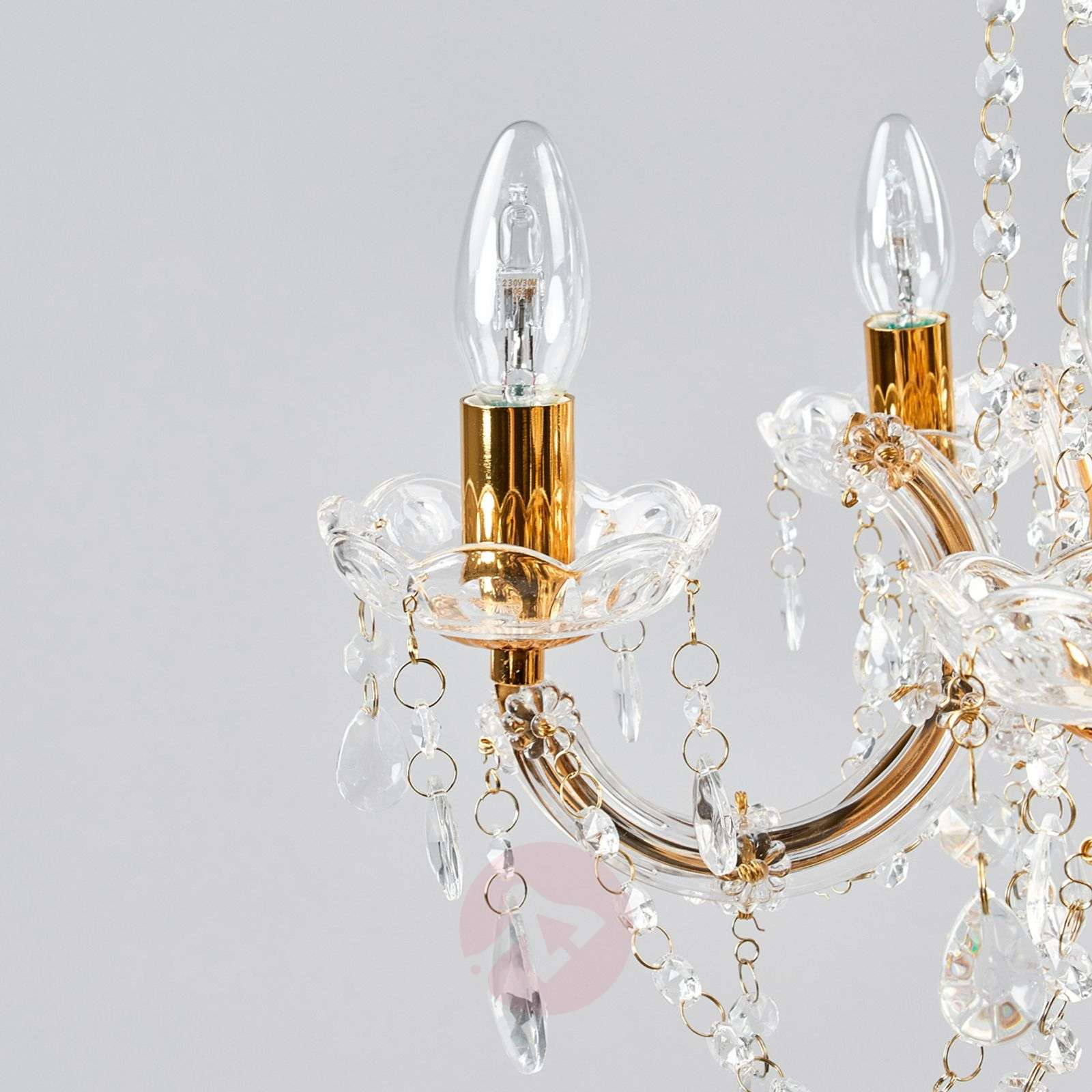 Beau lustre MARIE THERESE à 5 lampes-8570160-04