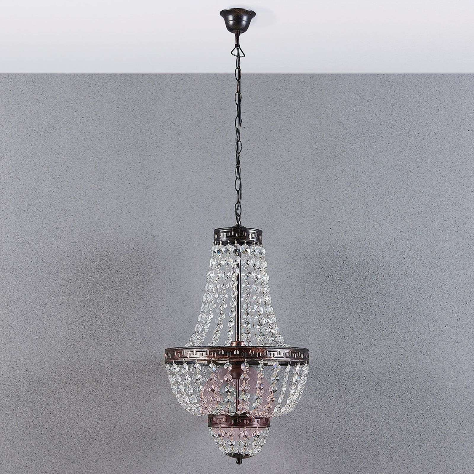 Belle suspension Jorbe avec du cristal-9621227-02