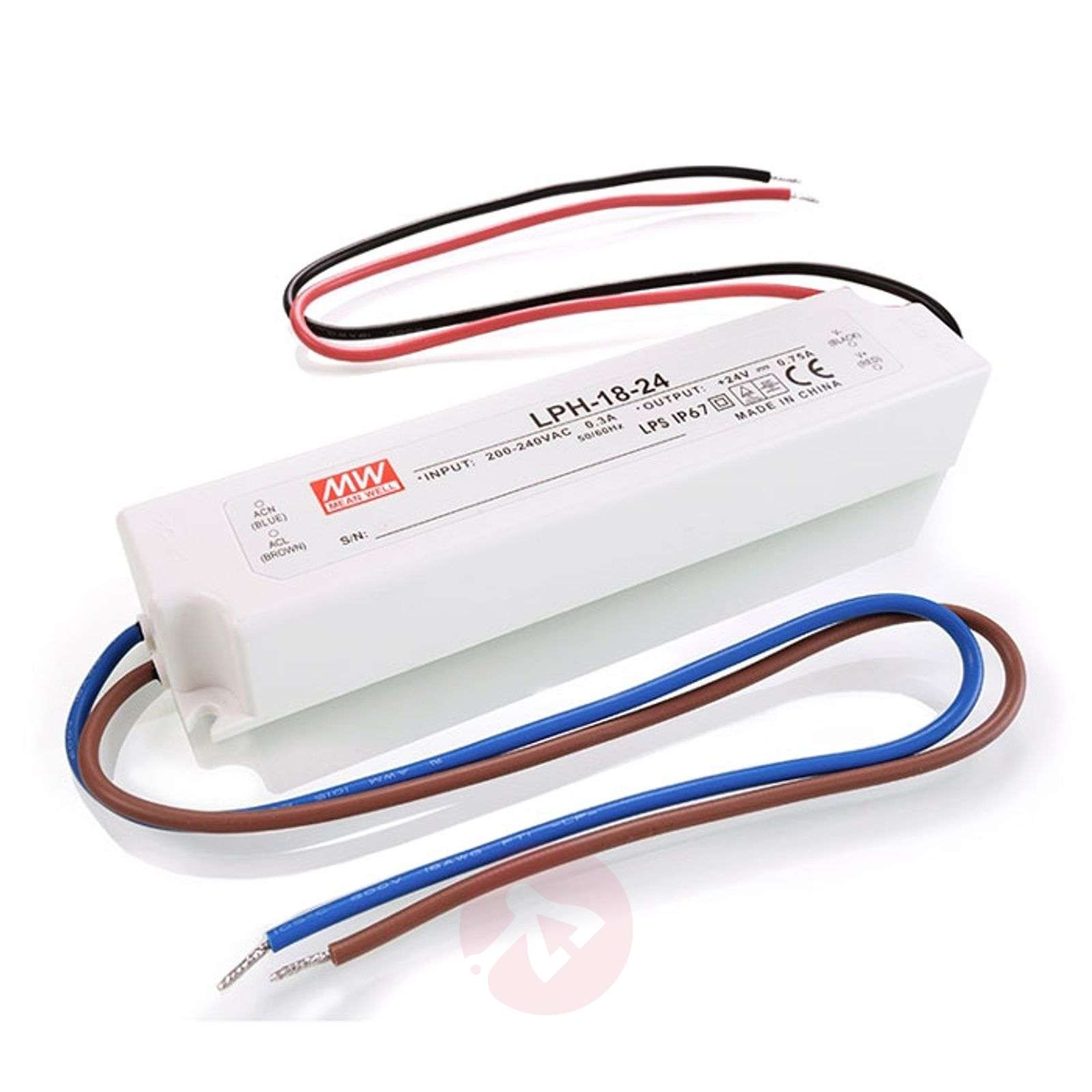 Bloc d'alimentation Mean Well 18W-2500050-01