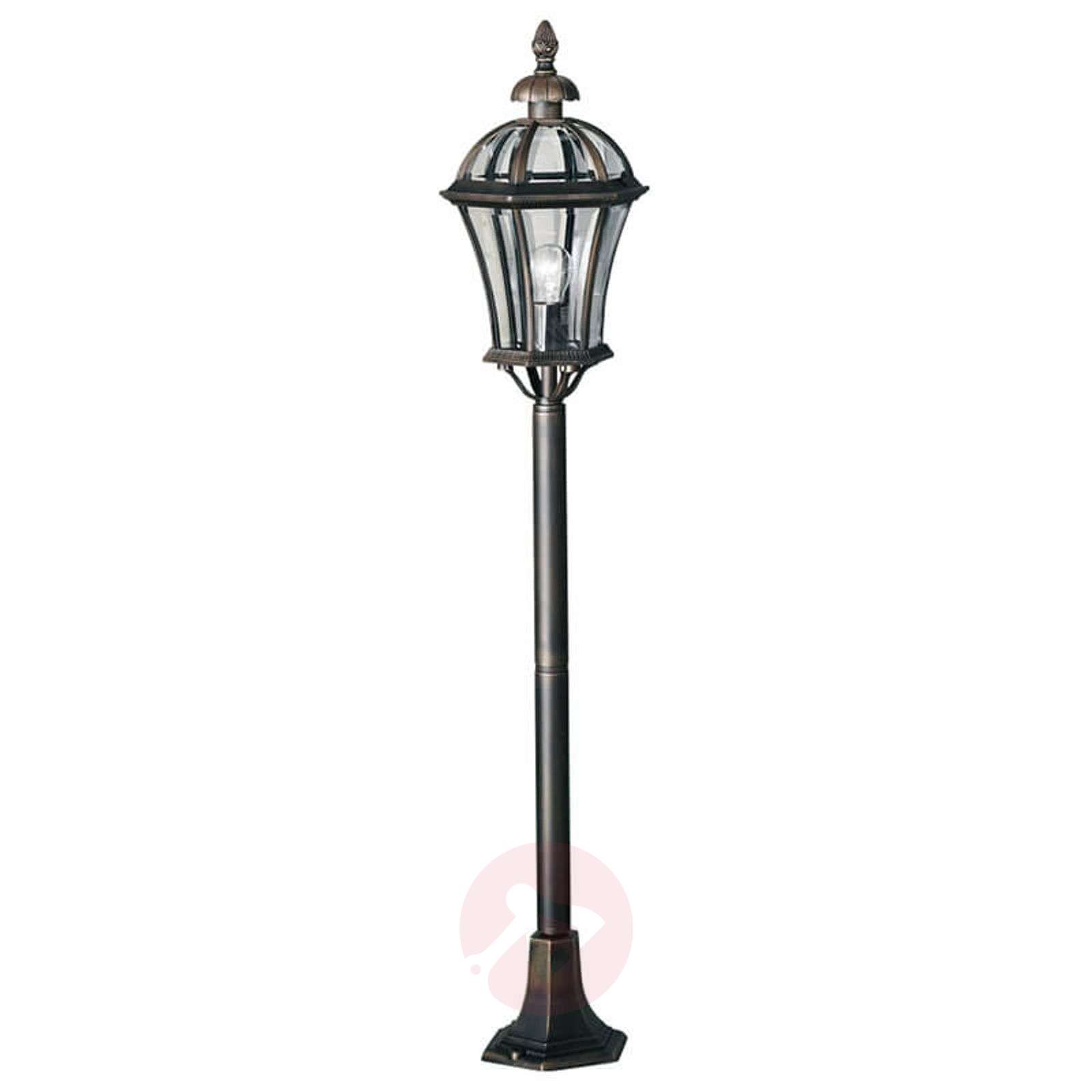 Borne lumineuse traditionnelle Westminster rouille-5560294-01