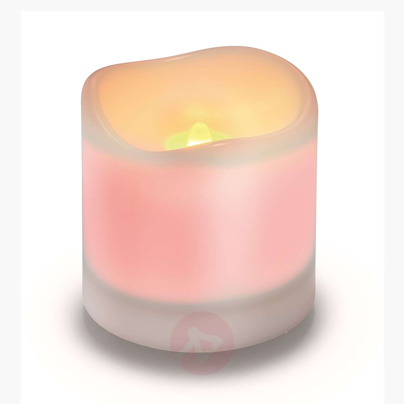 Bougie solaire LED Candle Light, blanc-3012228-01