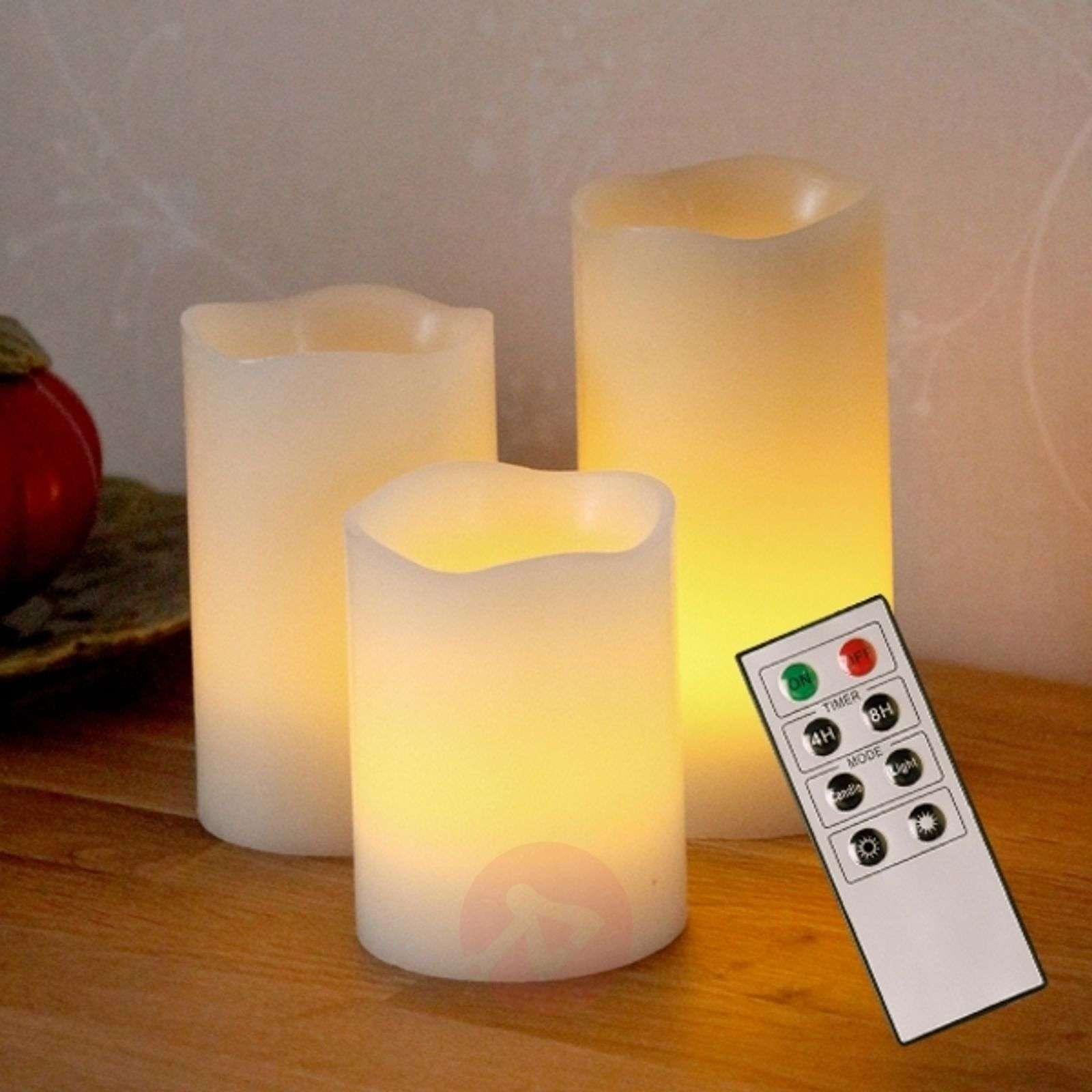 Bougies décoratives LED Candle Wax en cire-1522391-01