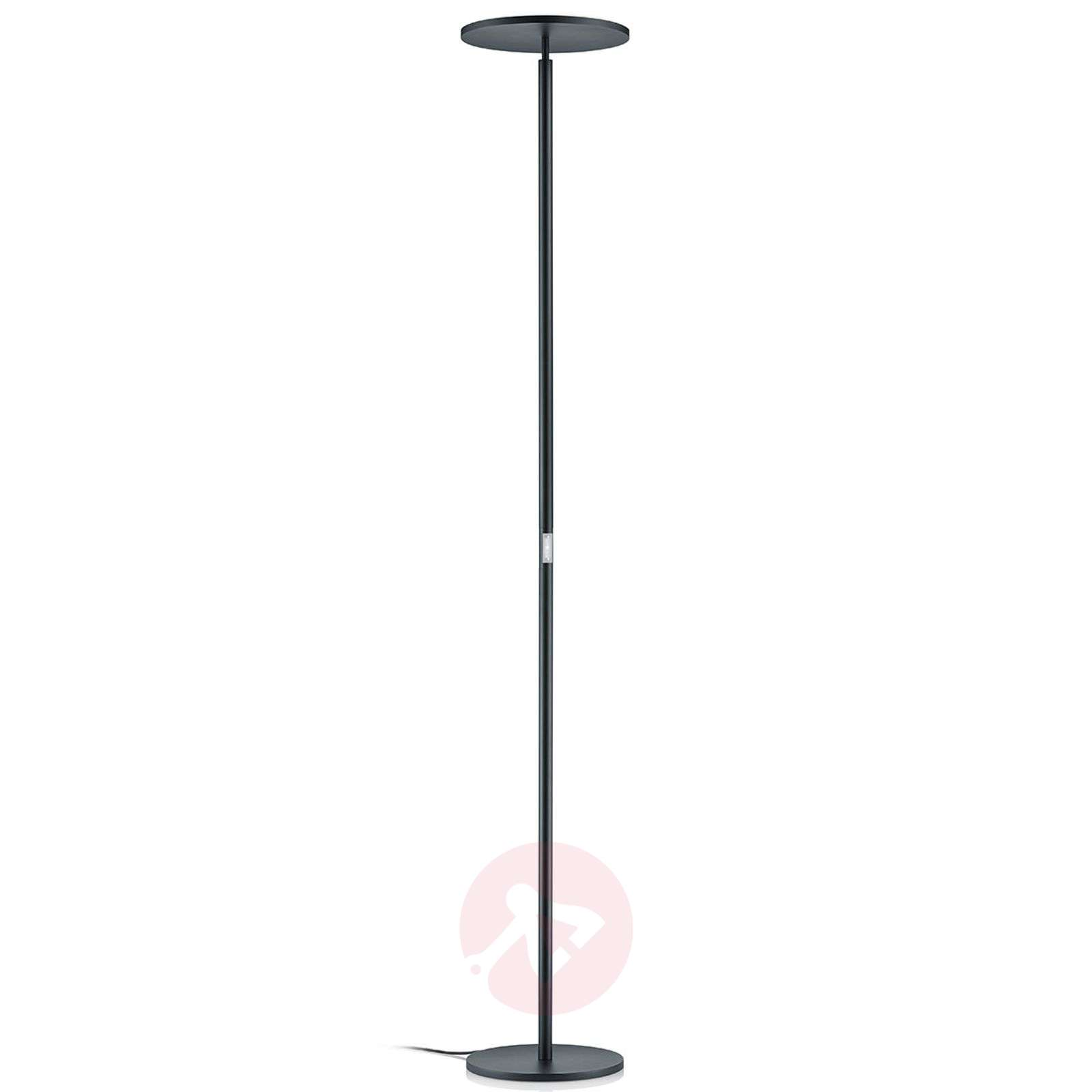 Commande gestuelle lampadaire indirect LED Omar-4002705-01