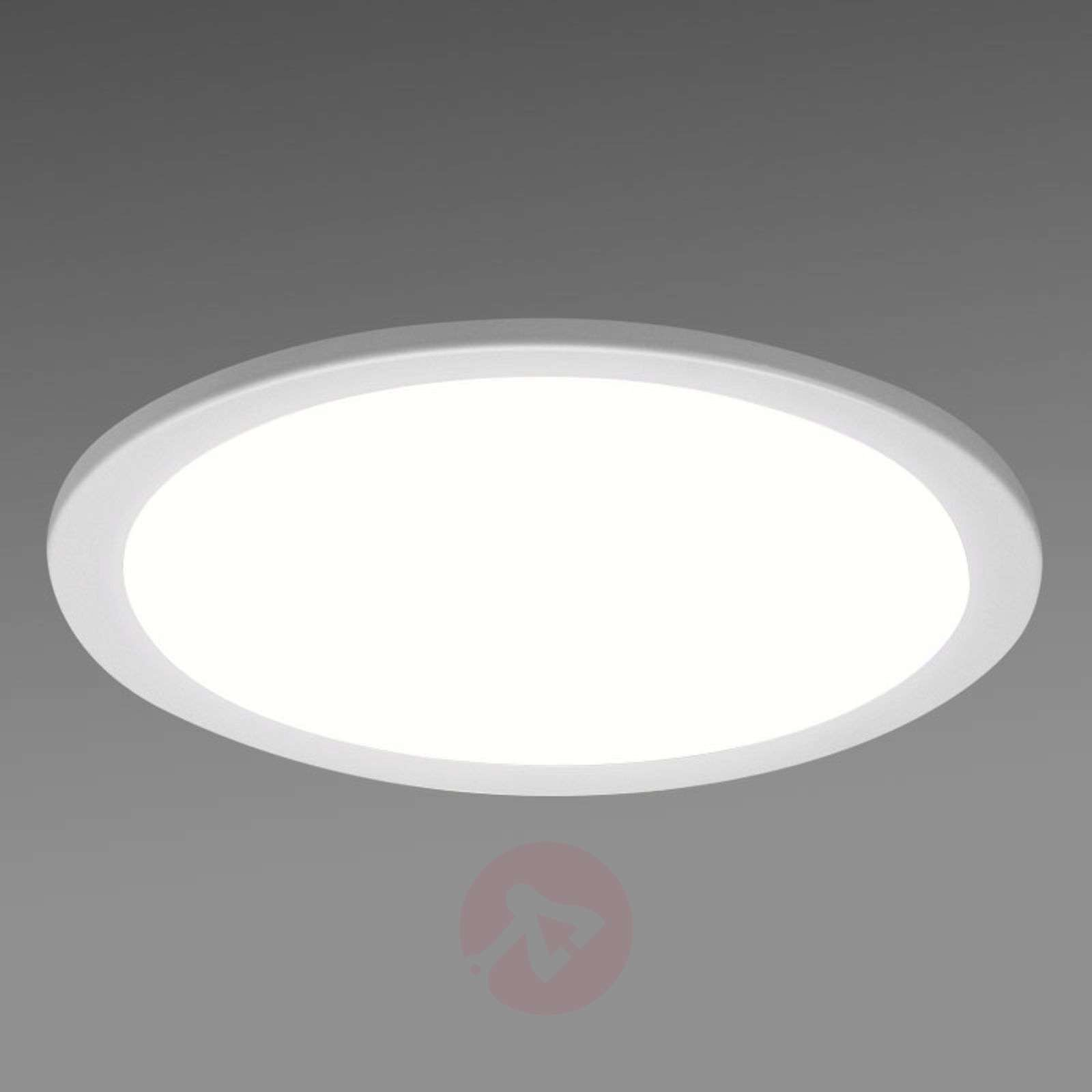 downlight encastrable led sblg rond en blanc. Black Bedroom Furniture Sets. Home Design Ideas