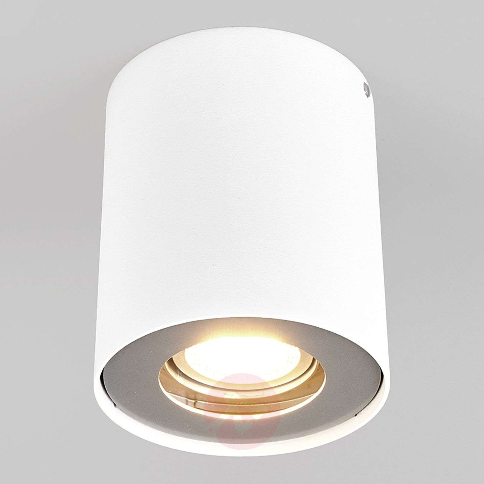 Downlight LED Giliano à 1 lampe, rond, blanc-9975001-01