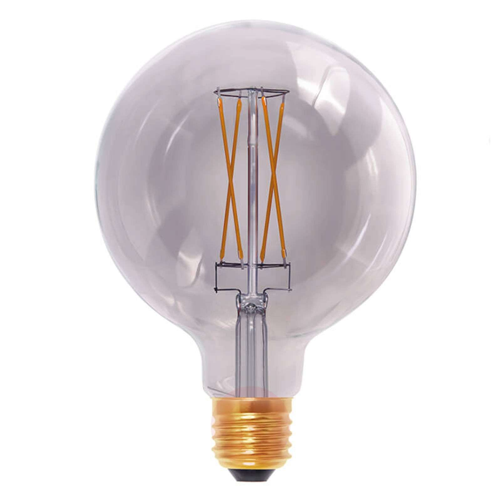 E27 6 W 920 ampoule globe LED smokey grey-8536126-05
