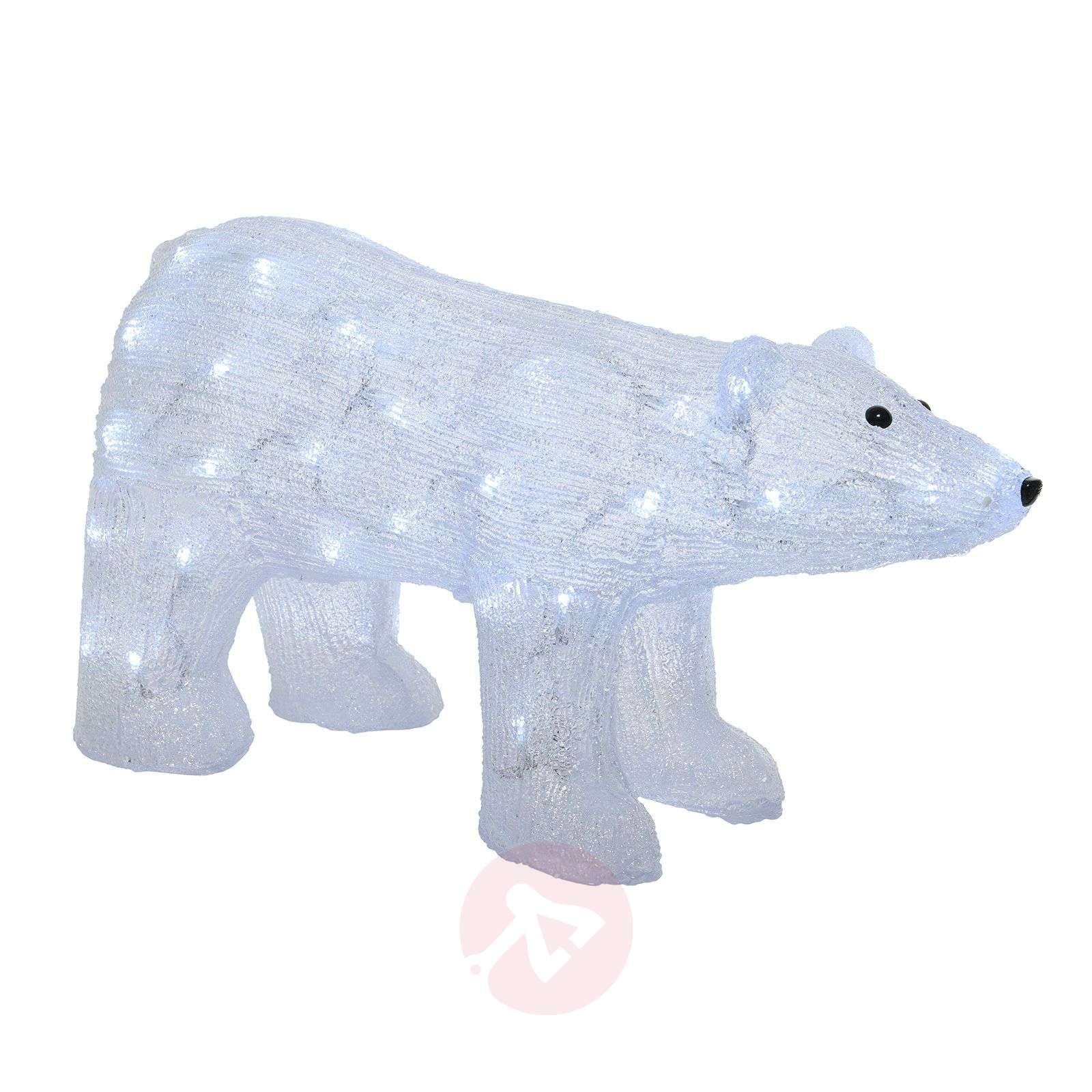 Figurine déco LED Ours polaire, ext., transparent-5527203-01