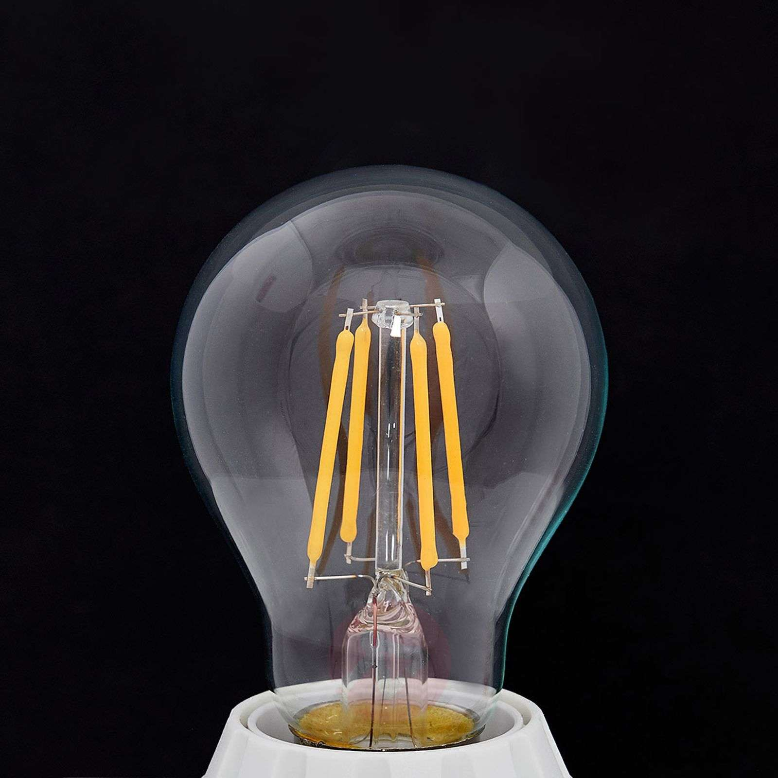 Flamme LED E27 4W, 470lm, 2 700K, transparent-9993032-01