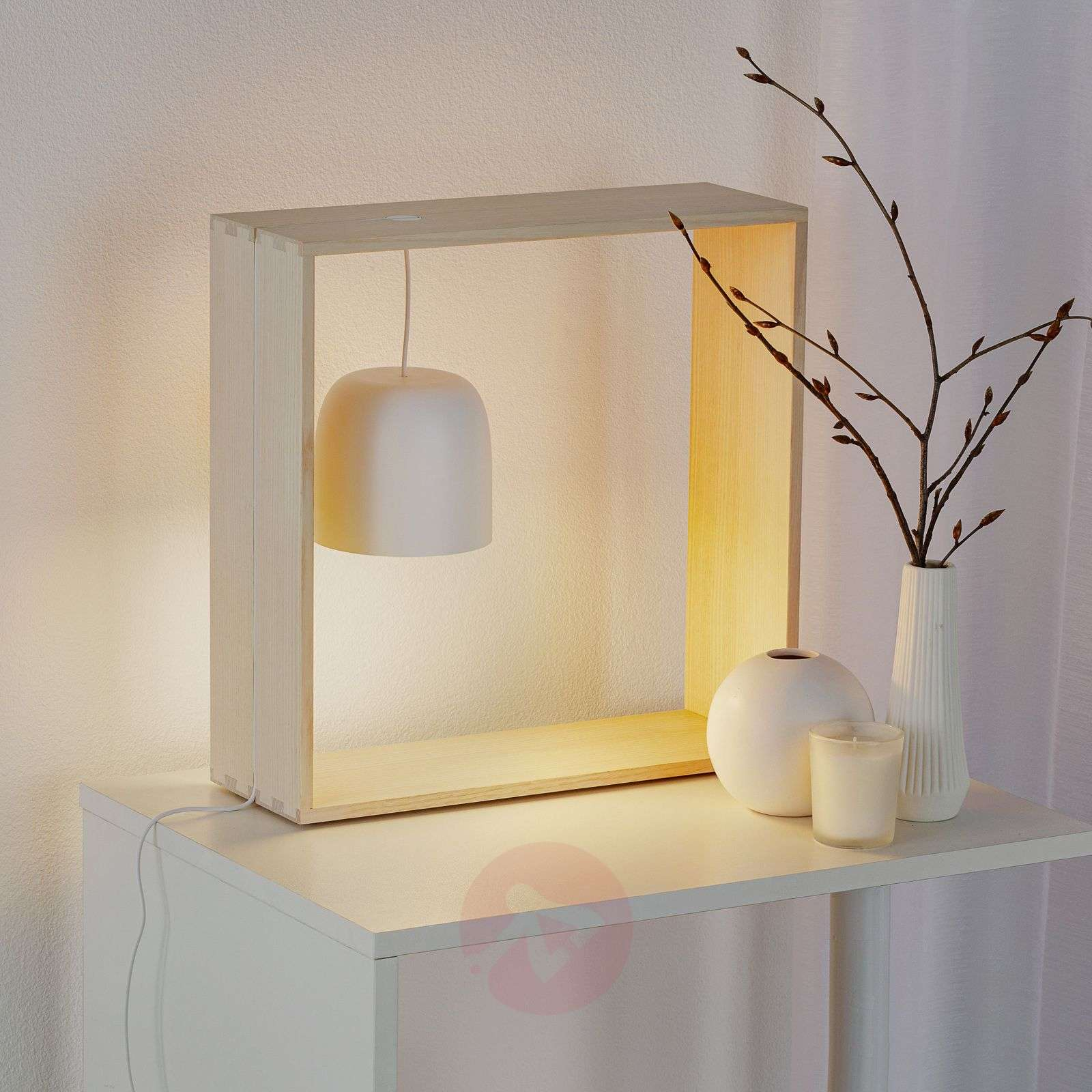 FLOS Gaku Wire lampe à poser LED, blanche-3510512-01