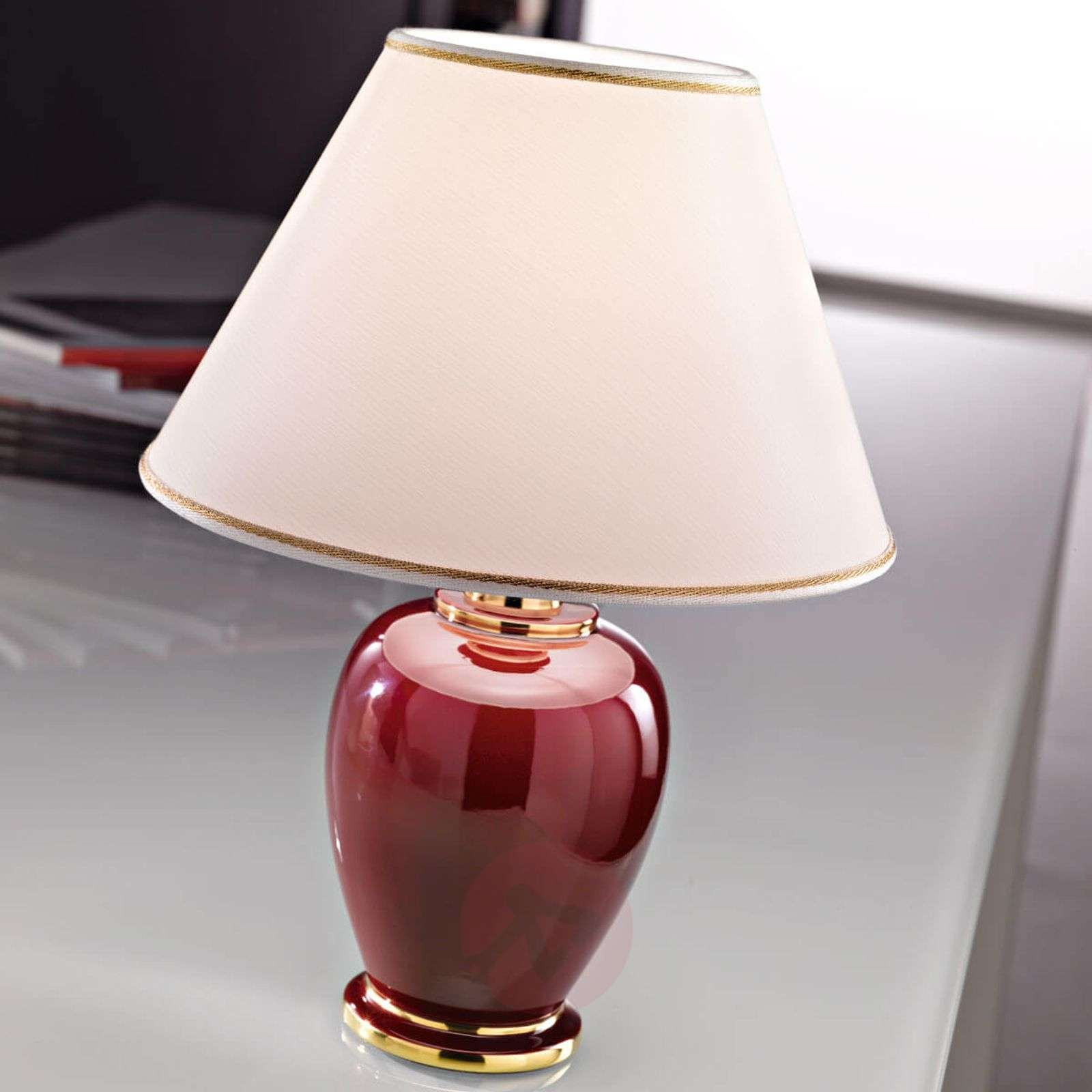 Gracieuse lampe à poser Bordeaux-5560175X-01