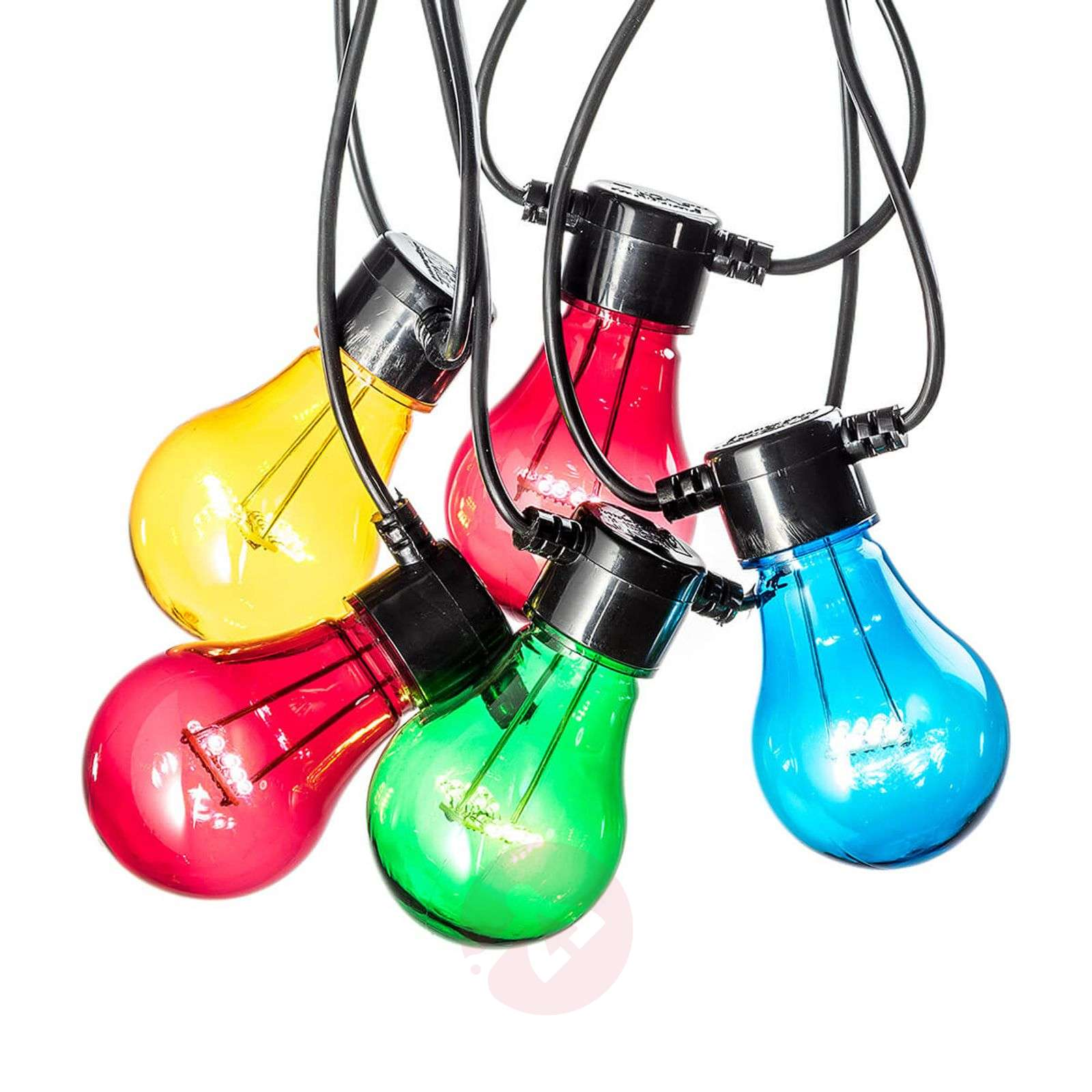 Guirlande lum. LED effet filament multicolore-5524804-01