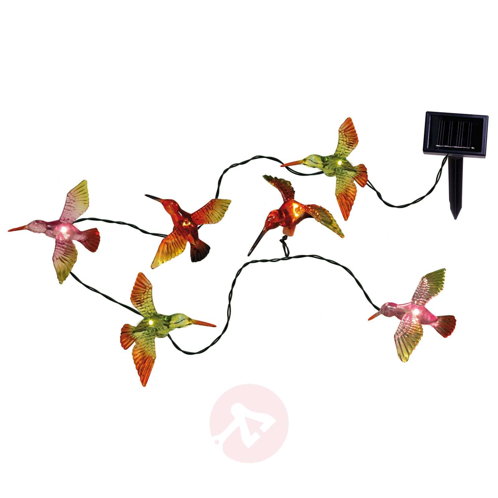 Guirlande lumineuse solaire Bird à 6 lampes-1522459-03