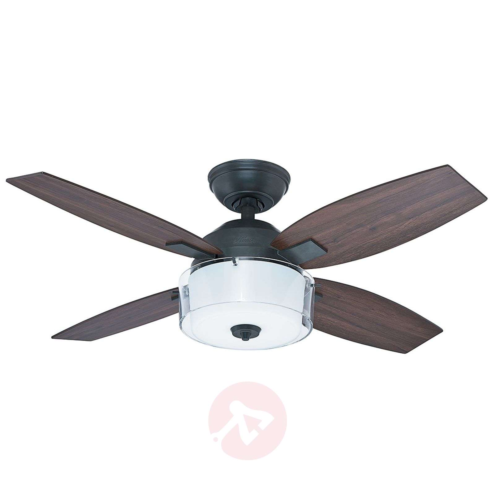 Ventilateur de plafond hunter central park moderne - Ventilateur de plafond silencieux hunter ...