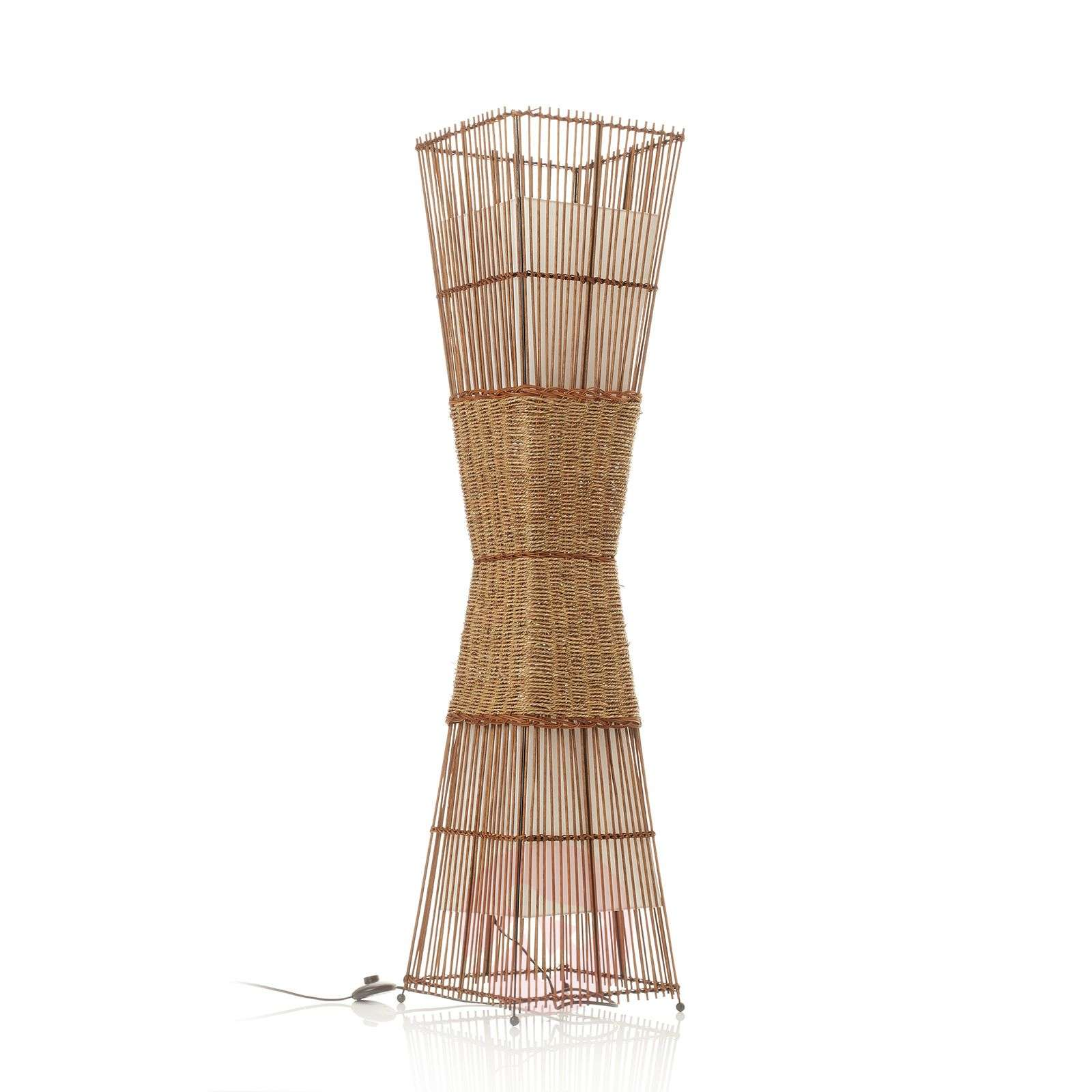 Lampadaire BAMBOO à 2 lampes-7007100-01