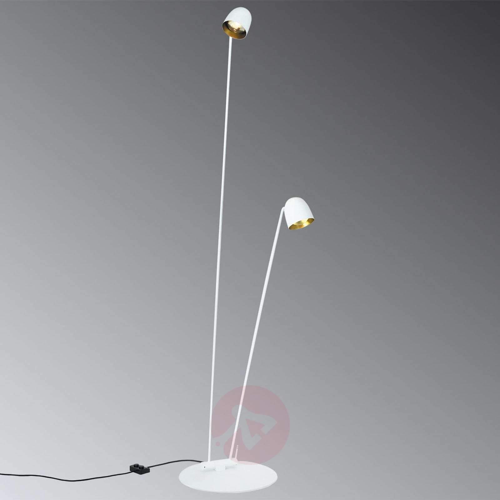 Lampadaire LED orientable Speers F blanc