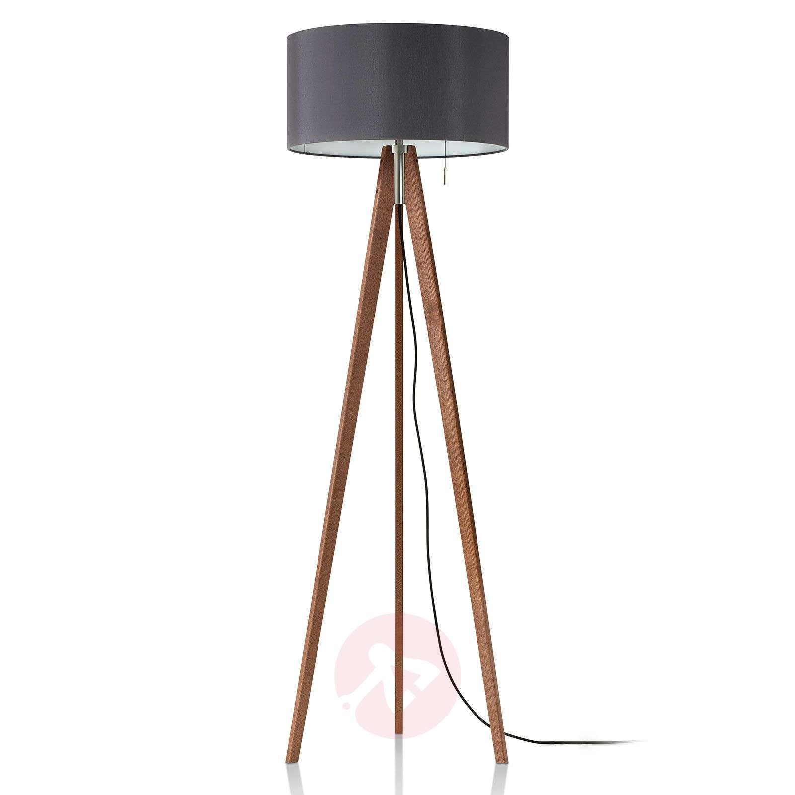 Lampadaire LED Vivaa Free Wood-9600114-01