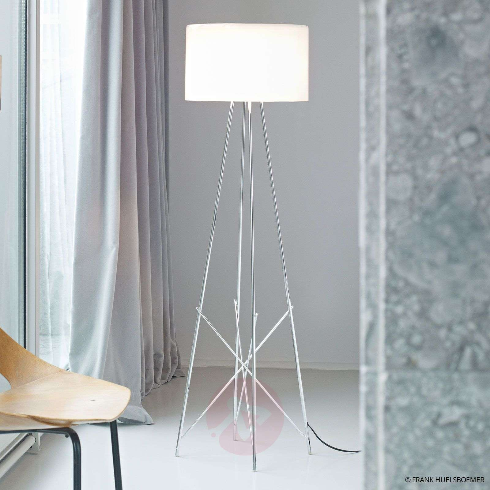 Lampadaire RAY F1 by FLOS blanc-3510129-03