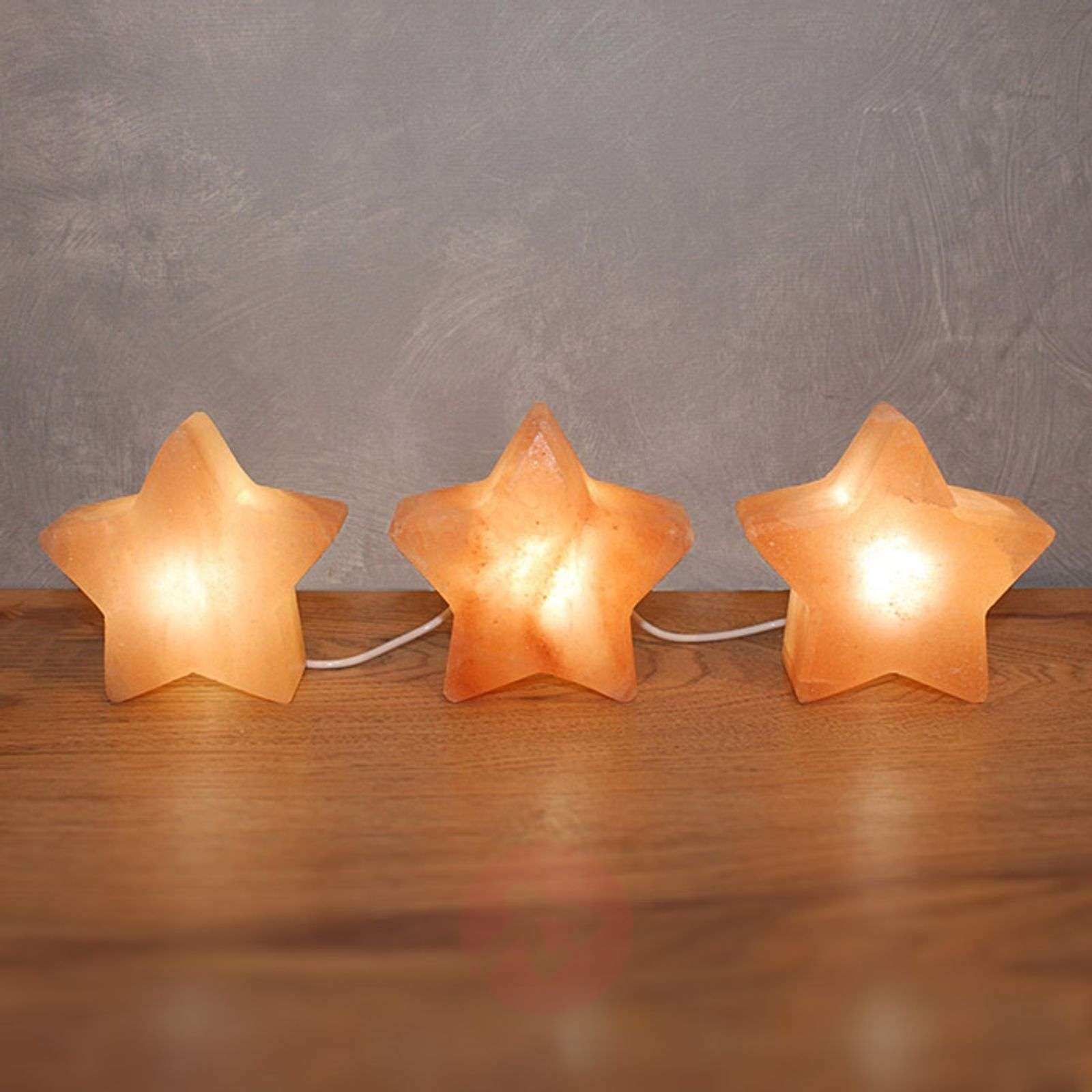 lampe poser led d corative star trio. Black Bedroom Furniture Sets. Home Design Ideas