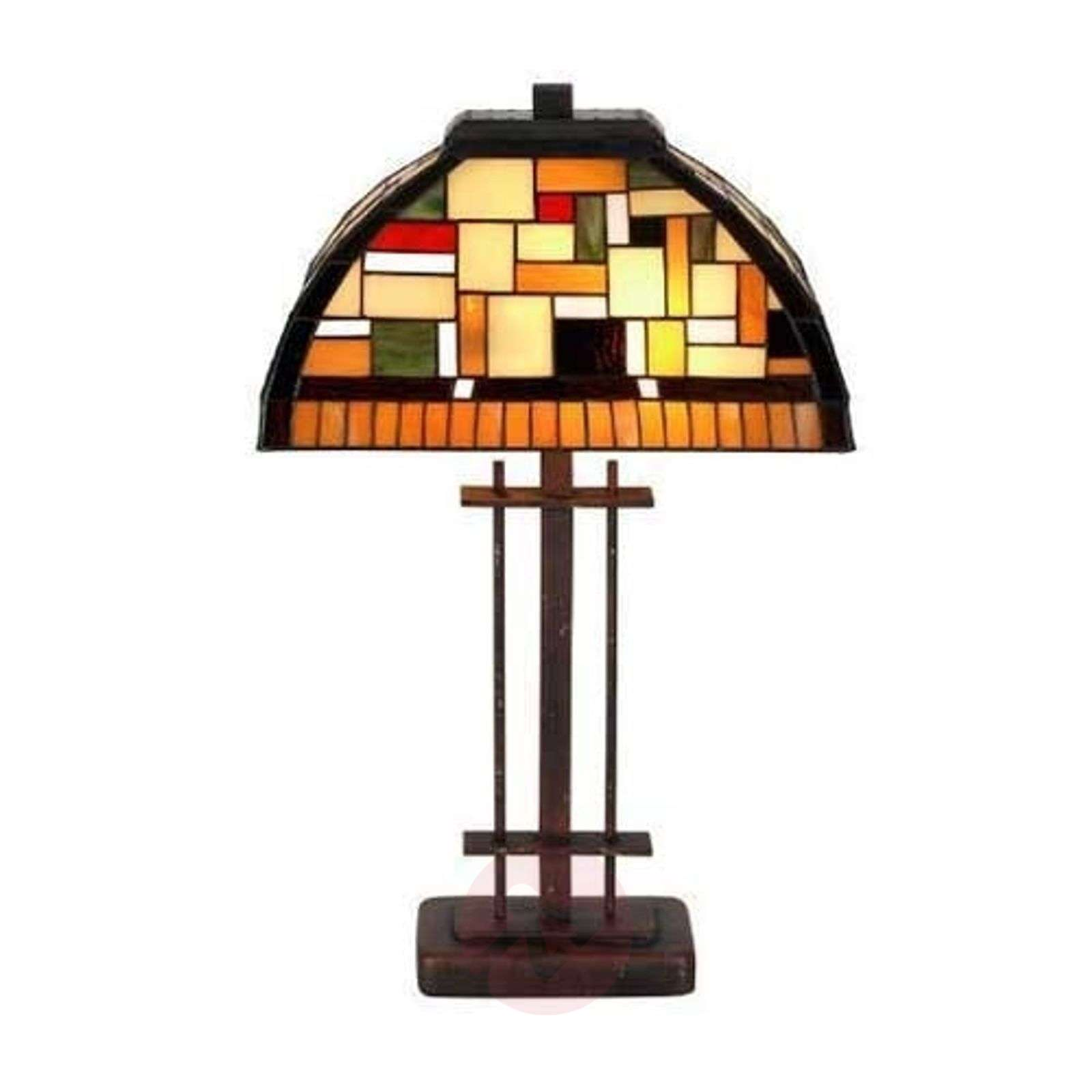 Lampe à poser MOSAICA style Tiffany-1032204-01