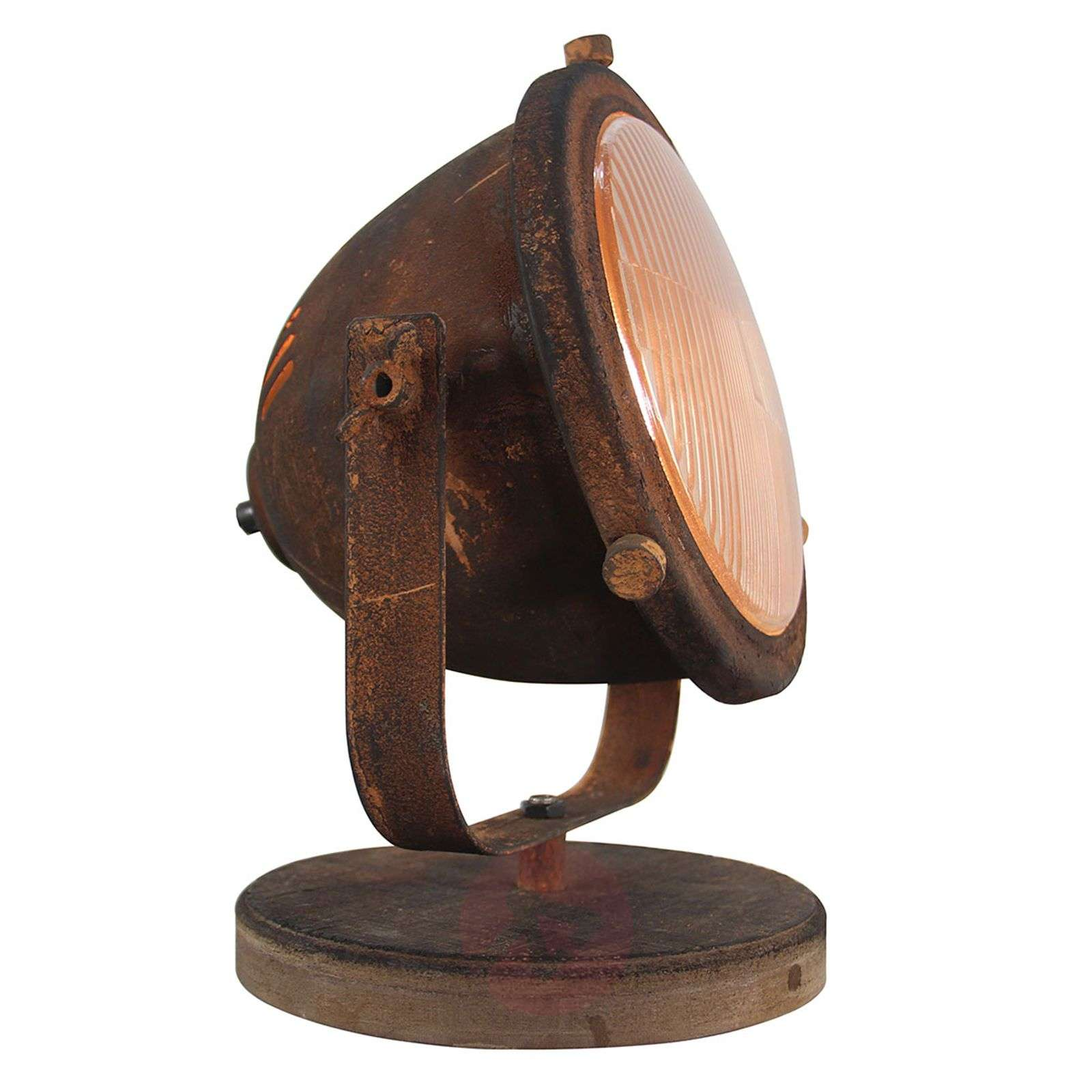 Lampe à poser Woody, rouille-3563187-01