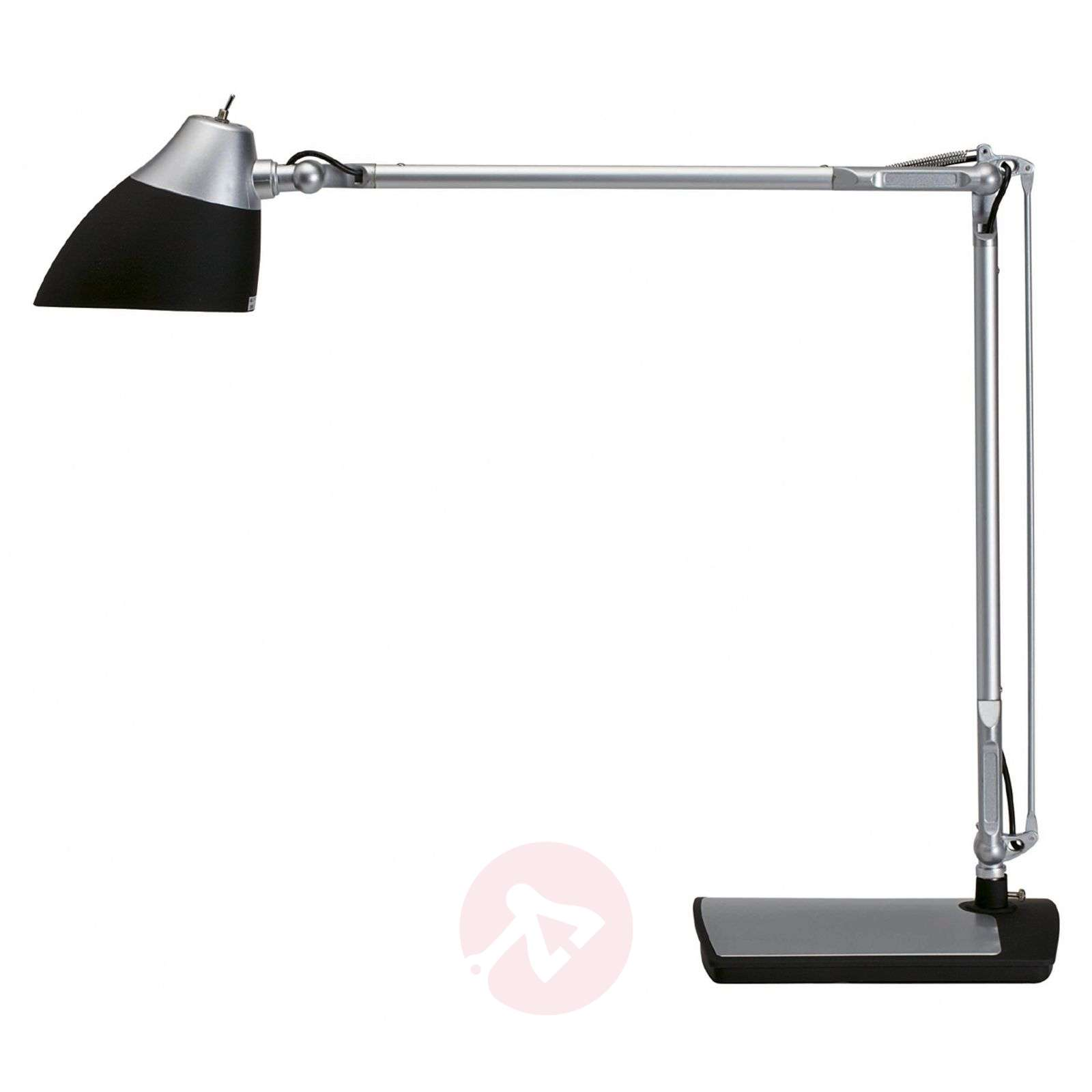 Lampe de bureau LED ECLIPSE, noir