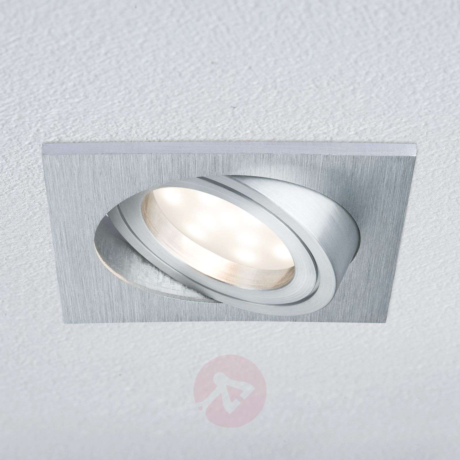 Ip23 Rectangulaire Led Lampe Encastrable Coin BxrodCe