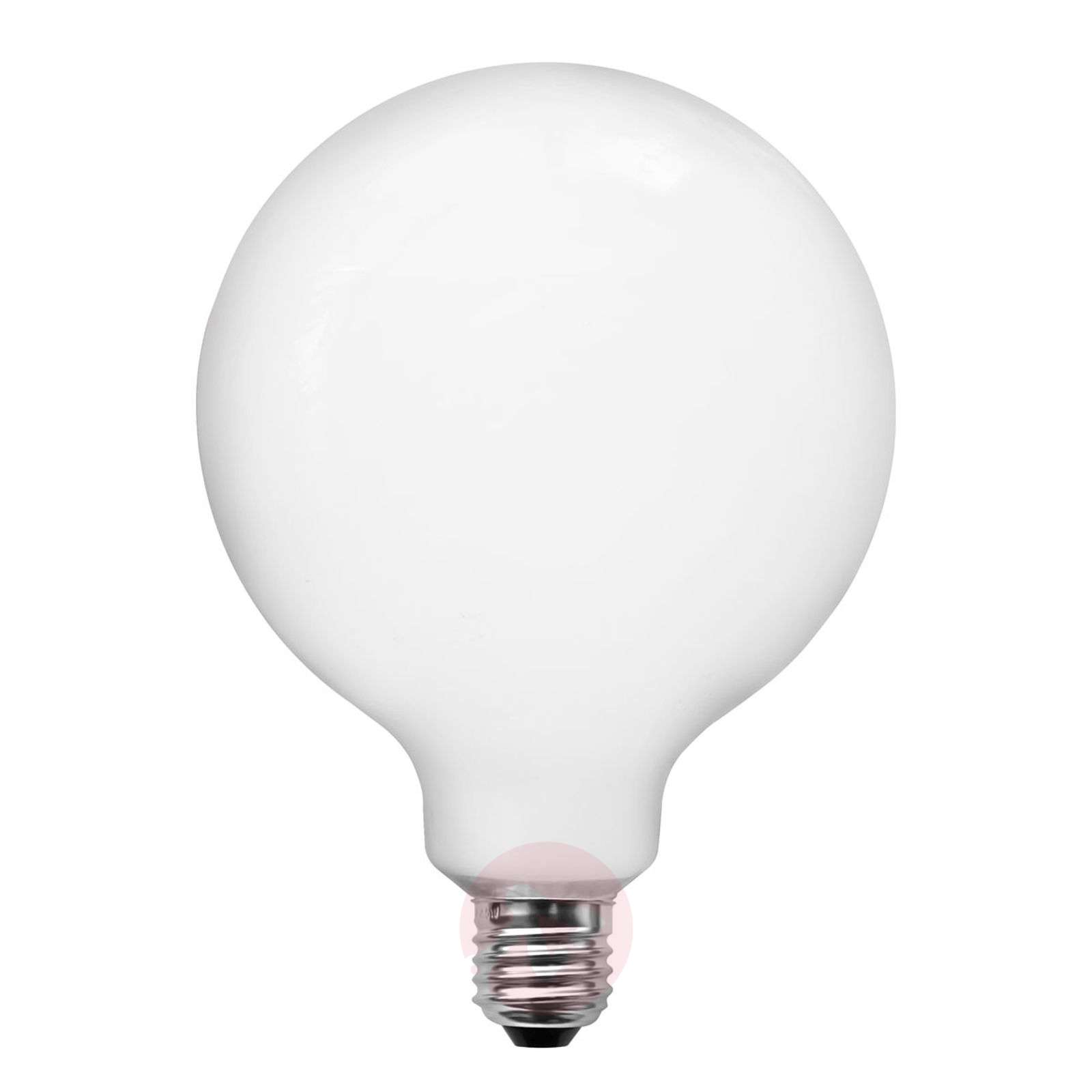 Lampe LED globe E27 4W G95 opale à int variable-8536021-01