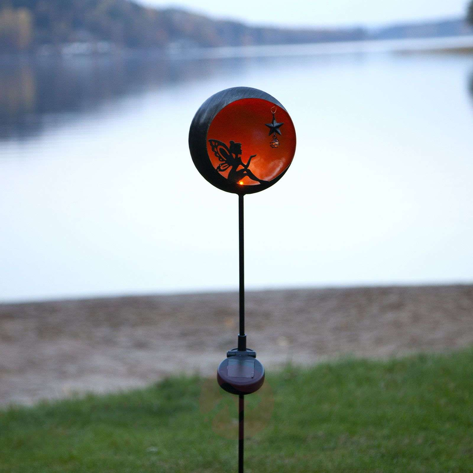 Lampe solaire LED Fairytale, orange-1523651-01