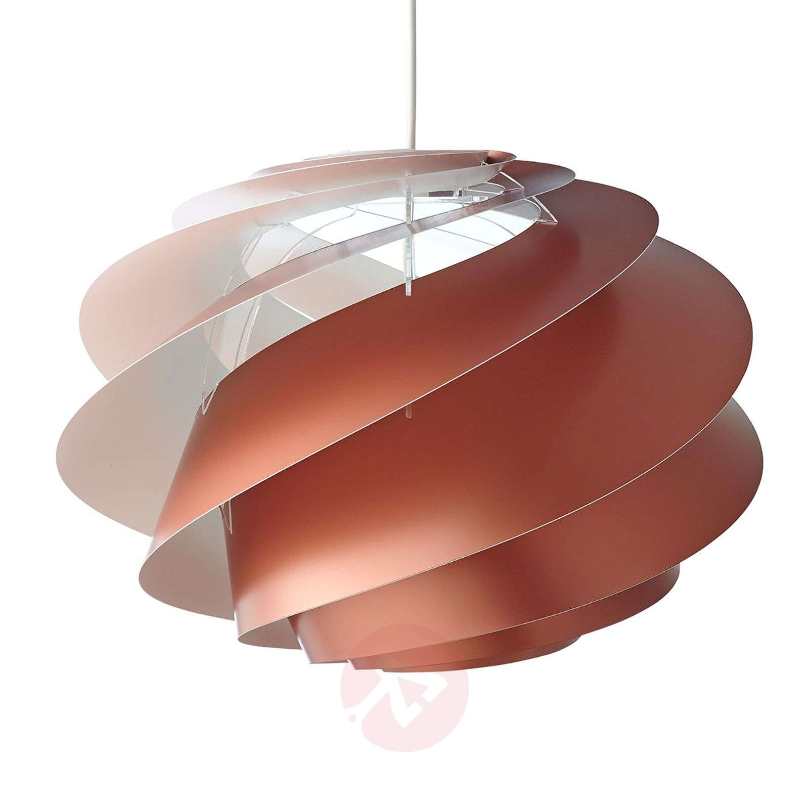 LE KLINT Swirl 1 suspension cuivrée-6086138-01